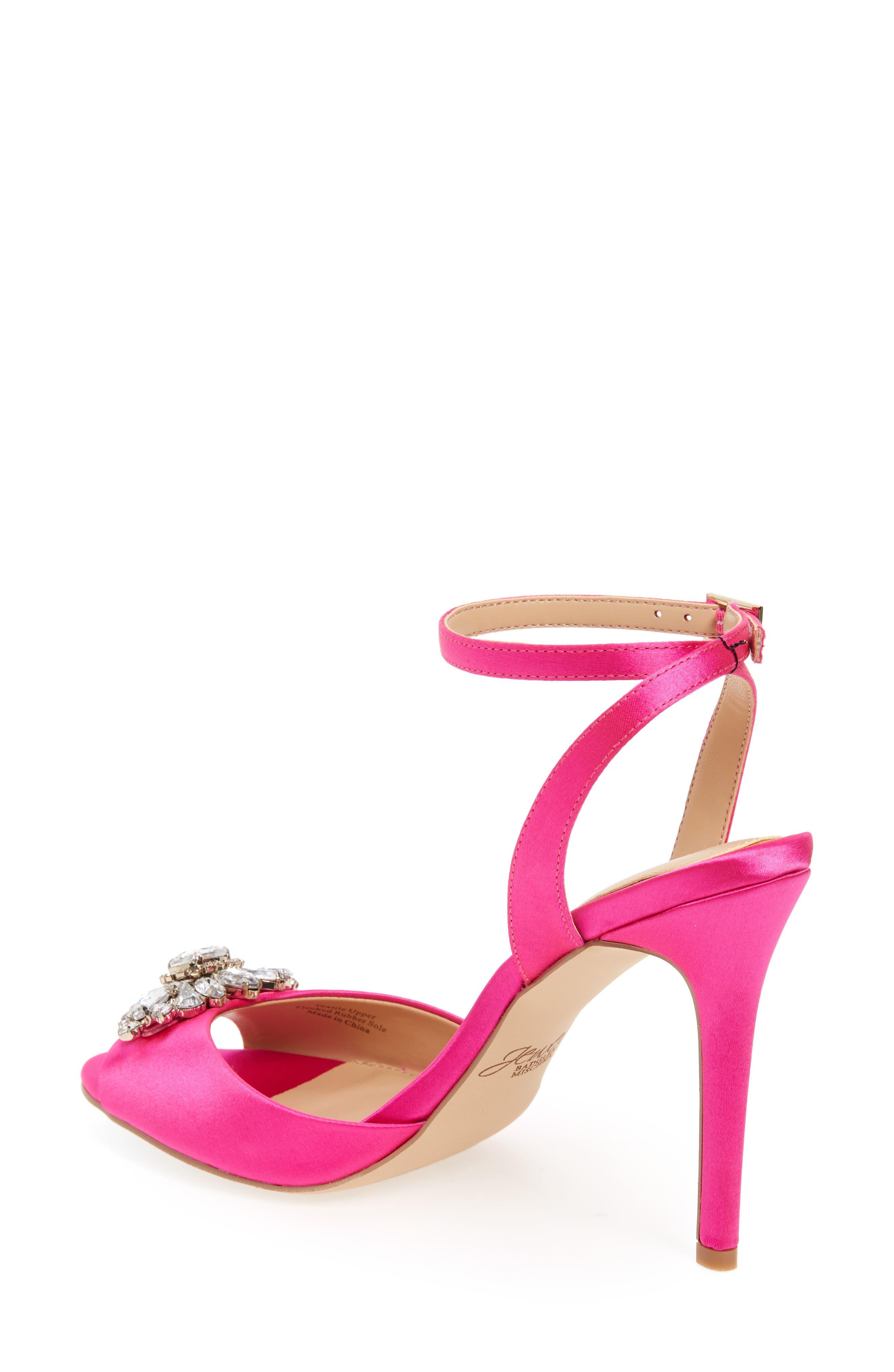 Alternate Image 2  - Jewel Badgley Mischka Hayden Embellished Ankle Strap Sandal (Women)