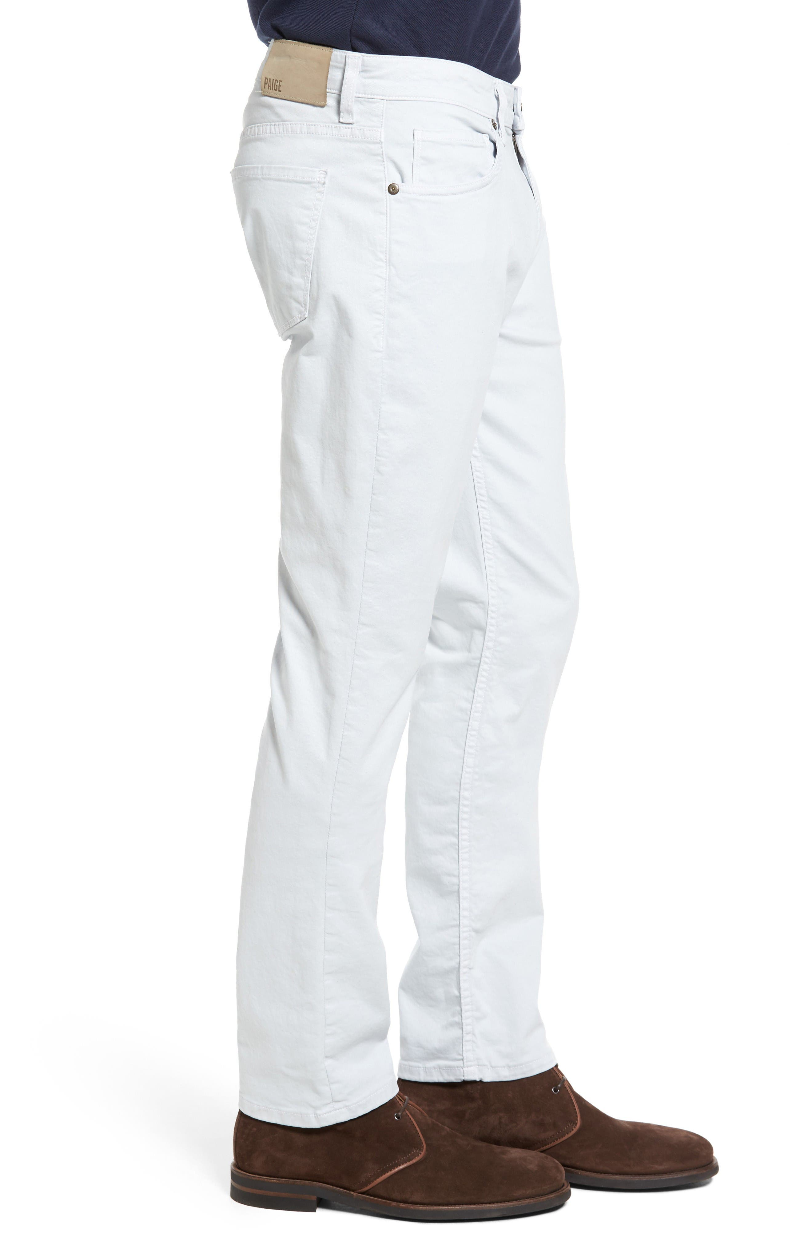 Alternate Image 3  - PAIGE 'Federal' Slim Straight Leg Twill Pants