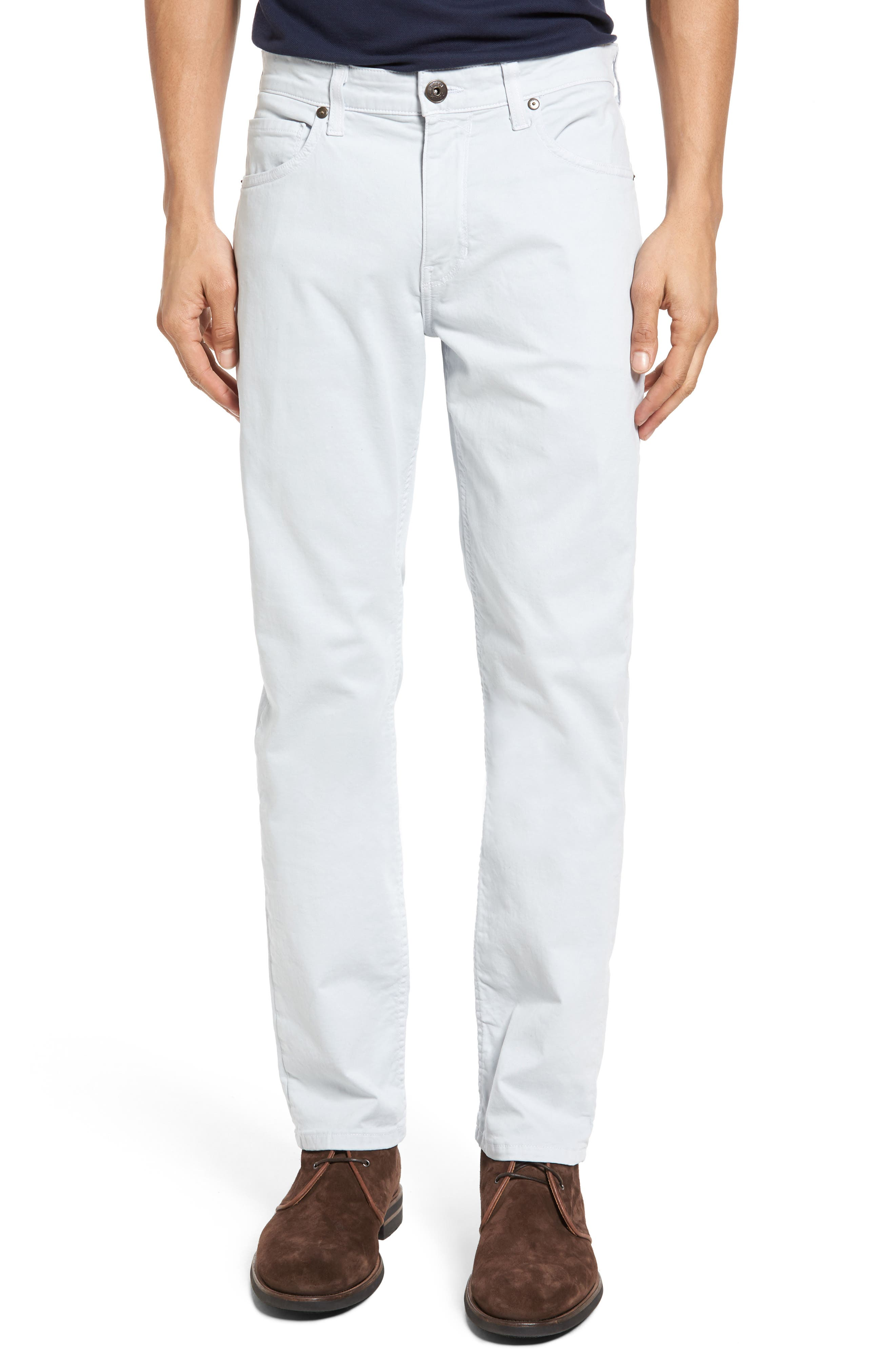 Alternate Image 1 Selected - PAIGE 'Federal' Slim Straight Leg Twill Pants