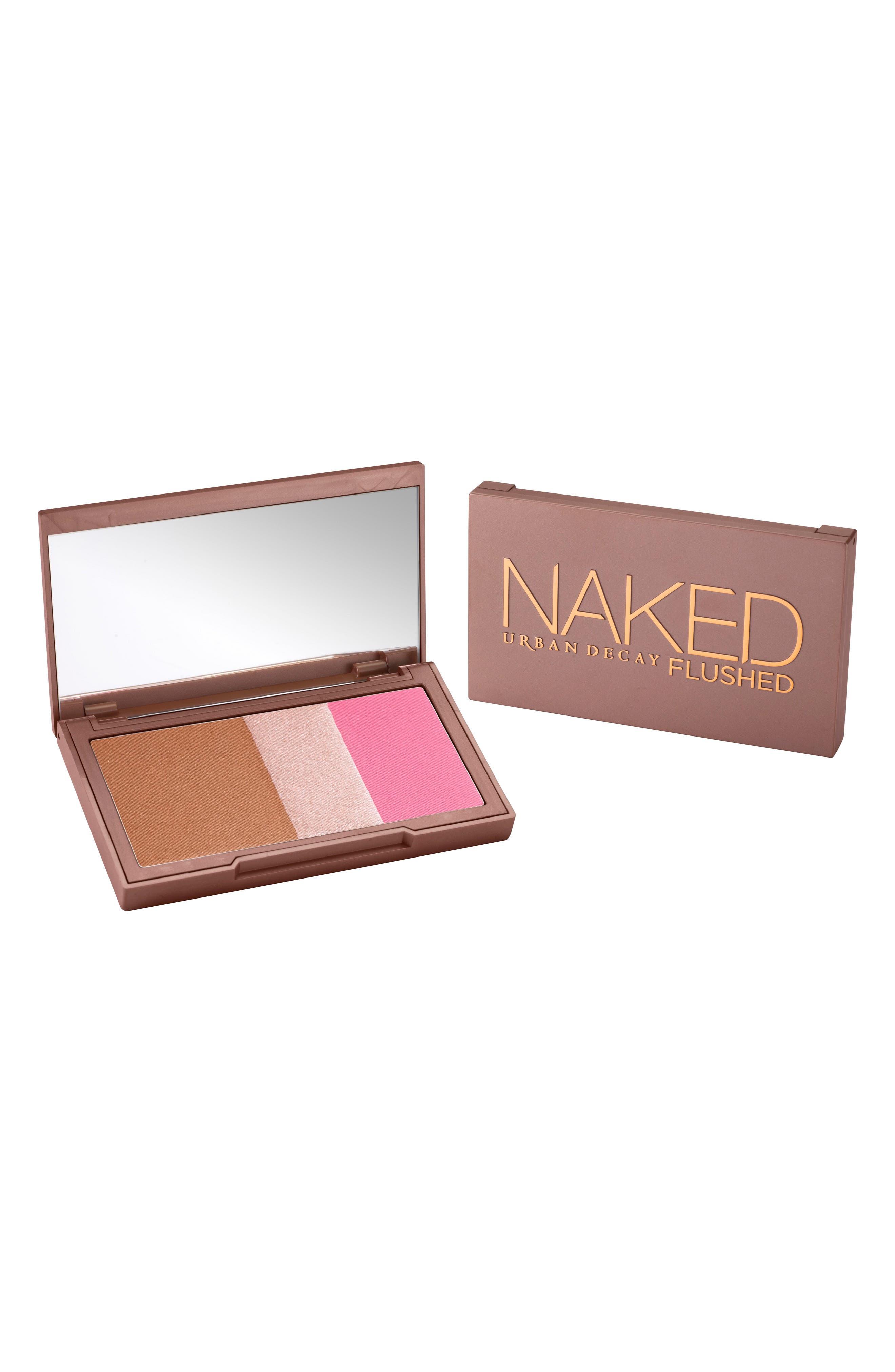 Naked Flushed Bronzer, Highlighter & Blush Palette,                             Alternate thumbnail 2, color,                             Going Native