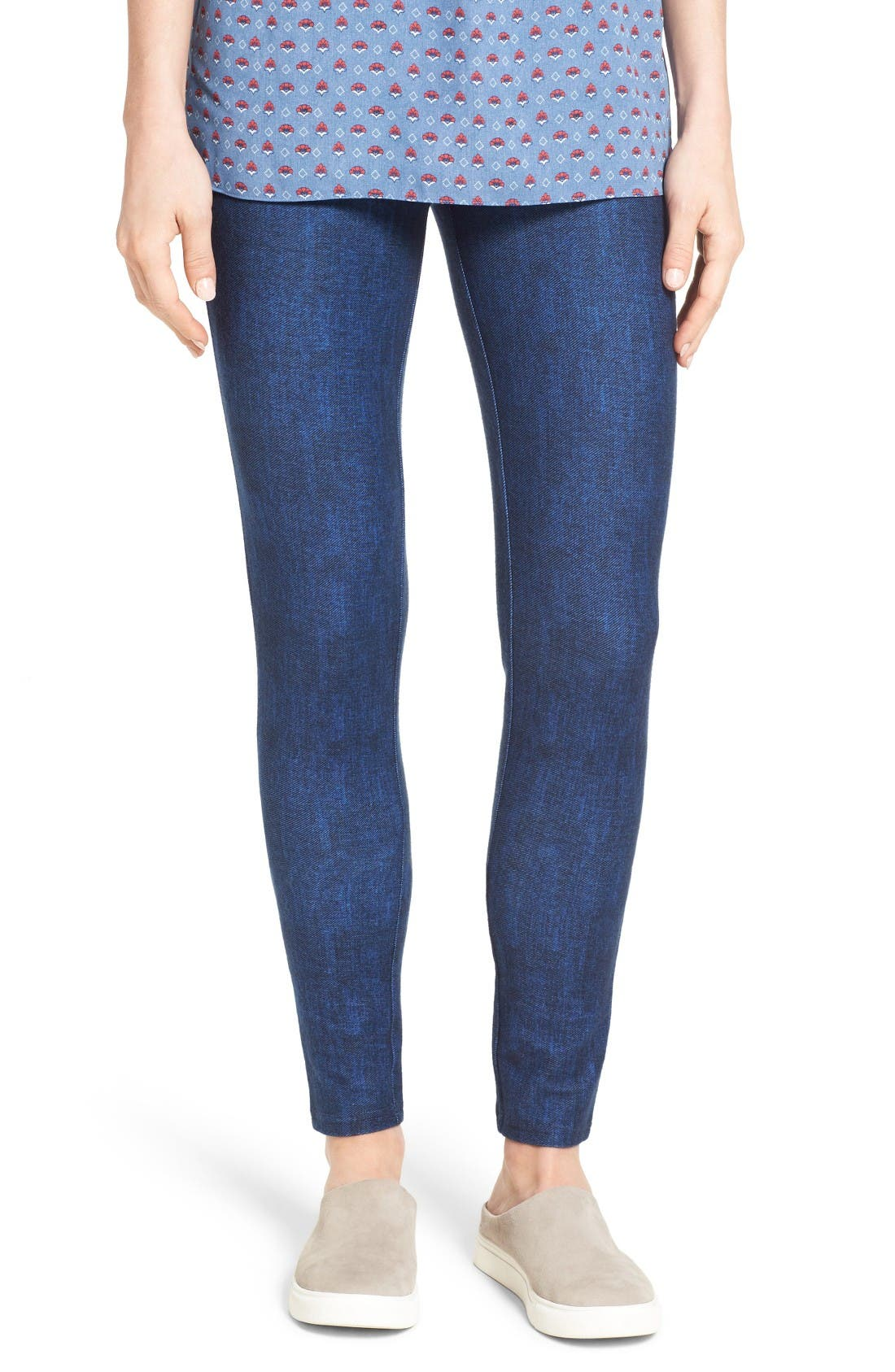 Alternate Image 1 Selected - Michael Kors Denim Leggings