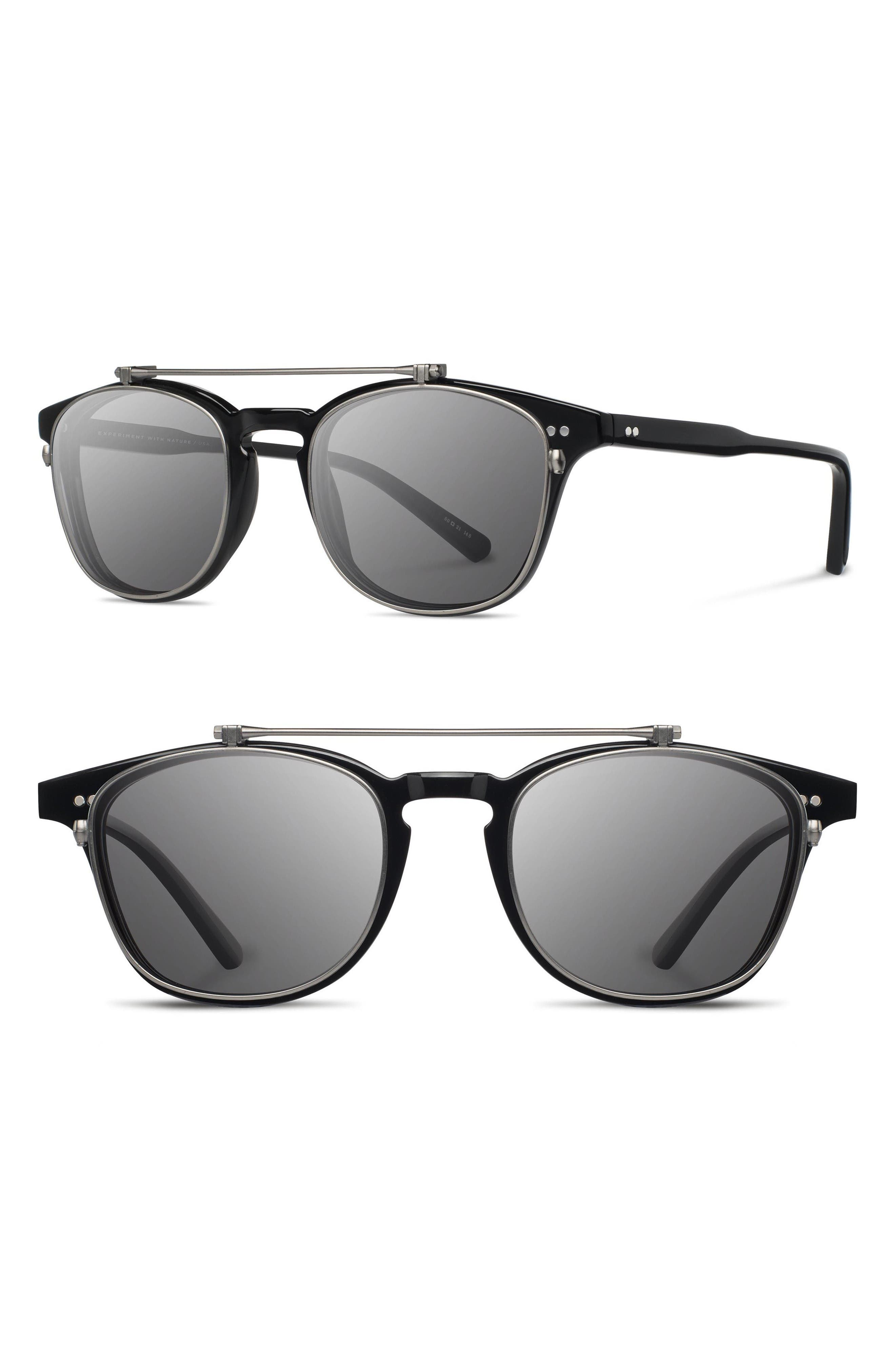Shwood Kennedy 50mm Polarized Sunglasses