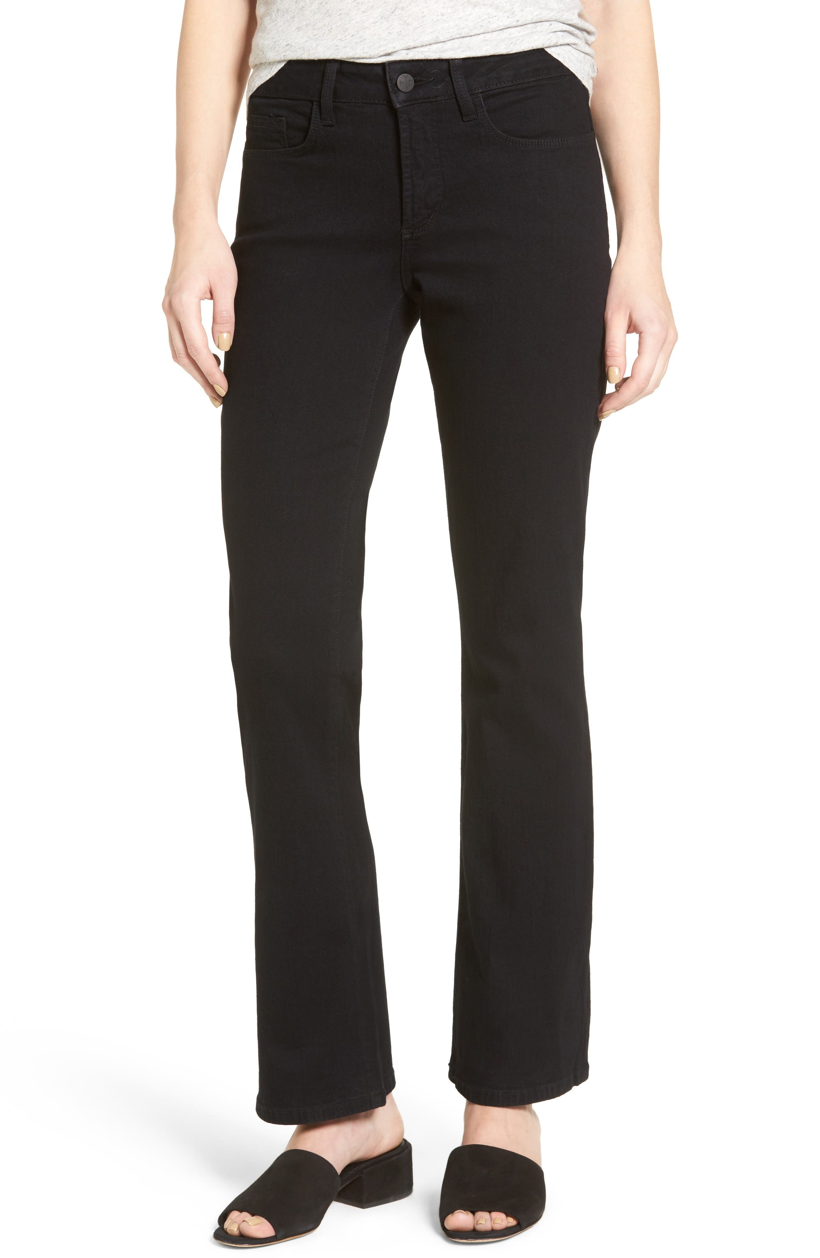 NYDJ Barbara Stretch Bootcut Jeans (Short)