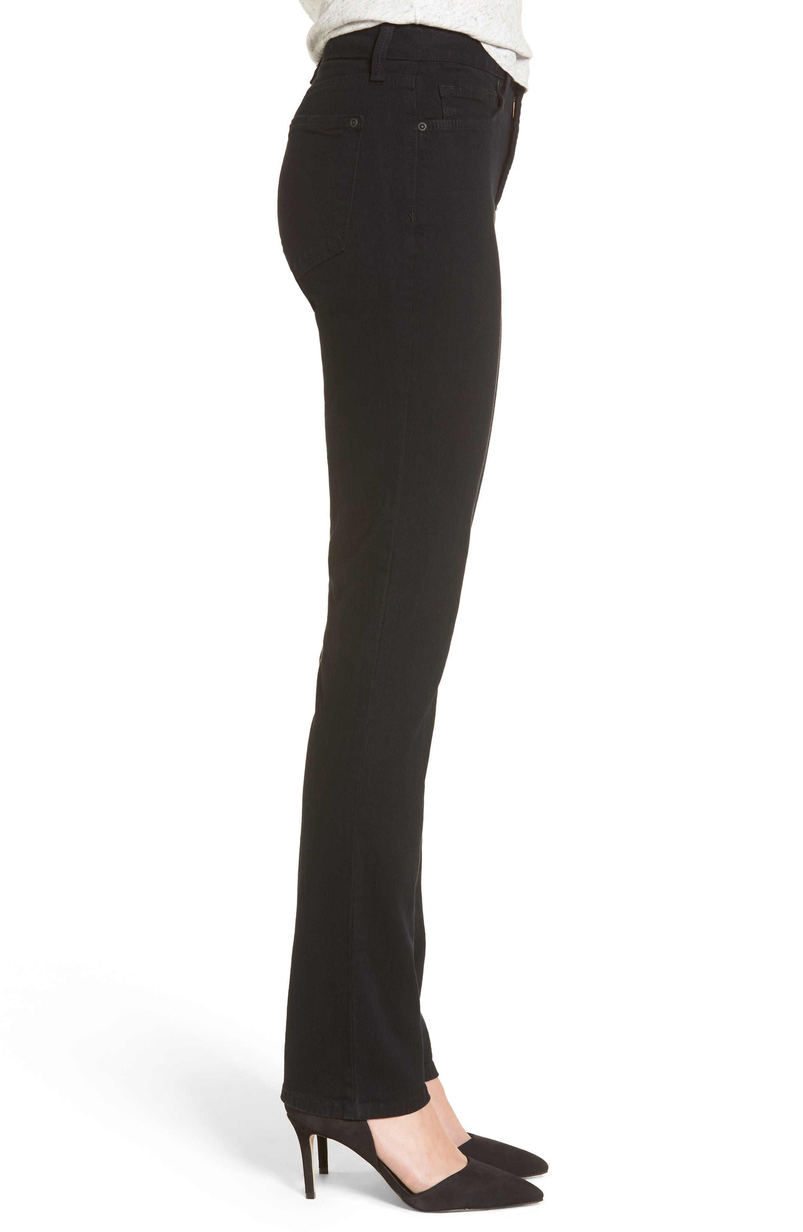 Alternate Image 3  - NYDJ Sheri Stretch Skinny Jeans (Long)