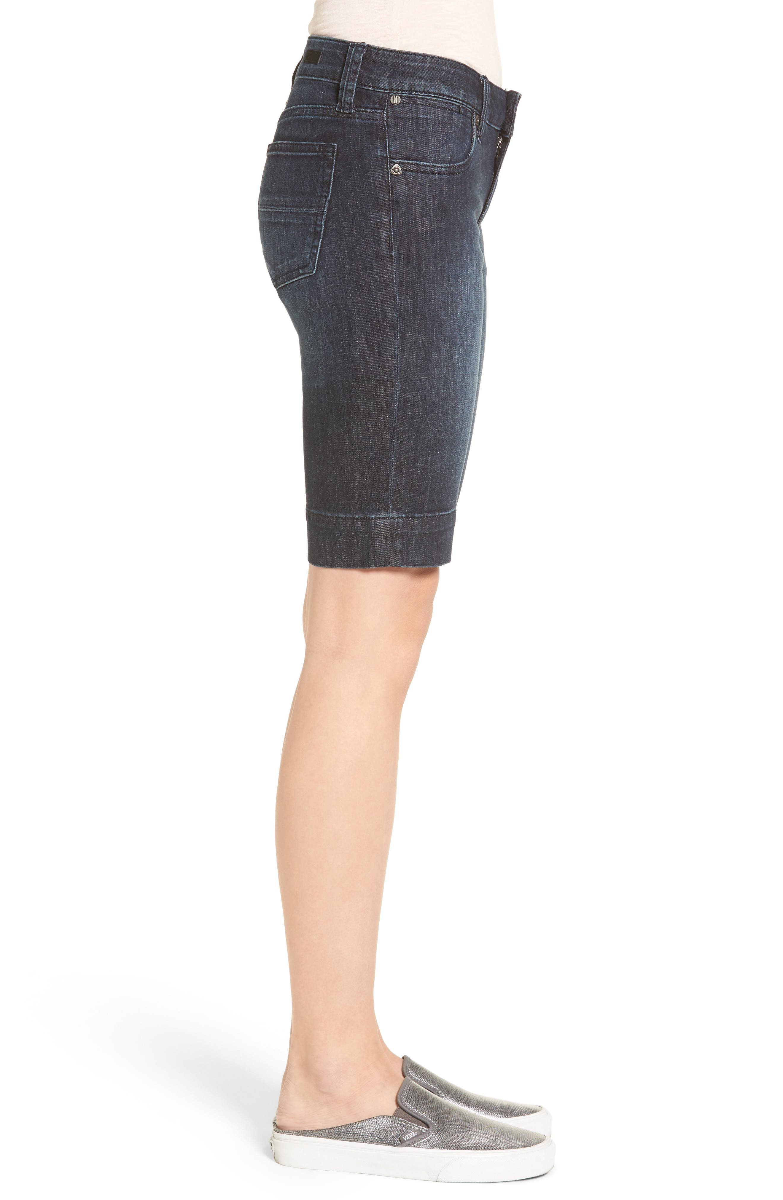 Alternate Image 3  - KUT from the Kloth 'Natalie' Twill Bermuda Shorts