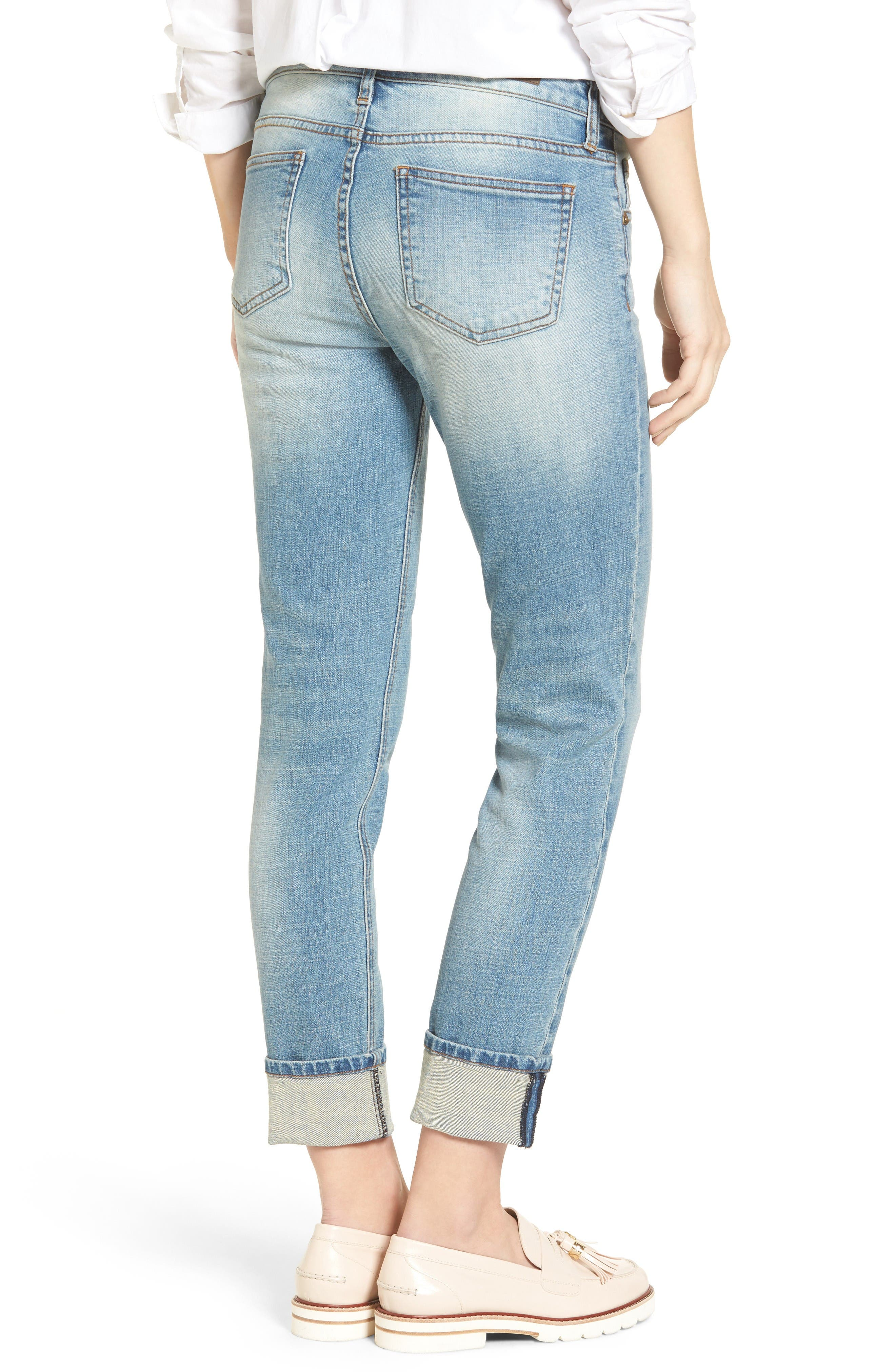 Alternate Image 2  - KUT from the Kloth Catherine Boyfriend Jeans (fromal)