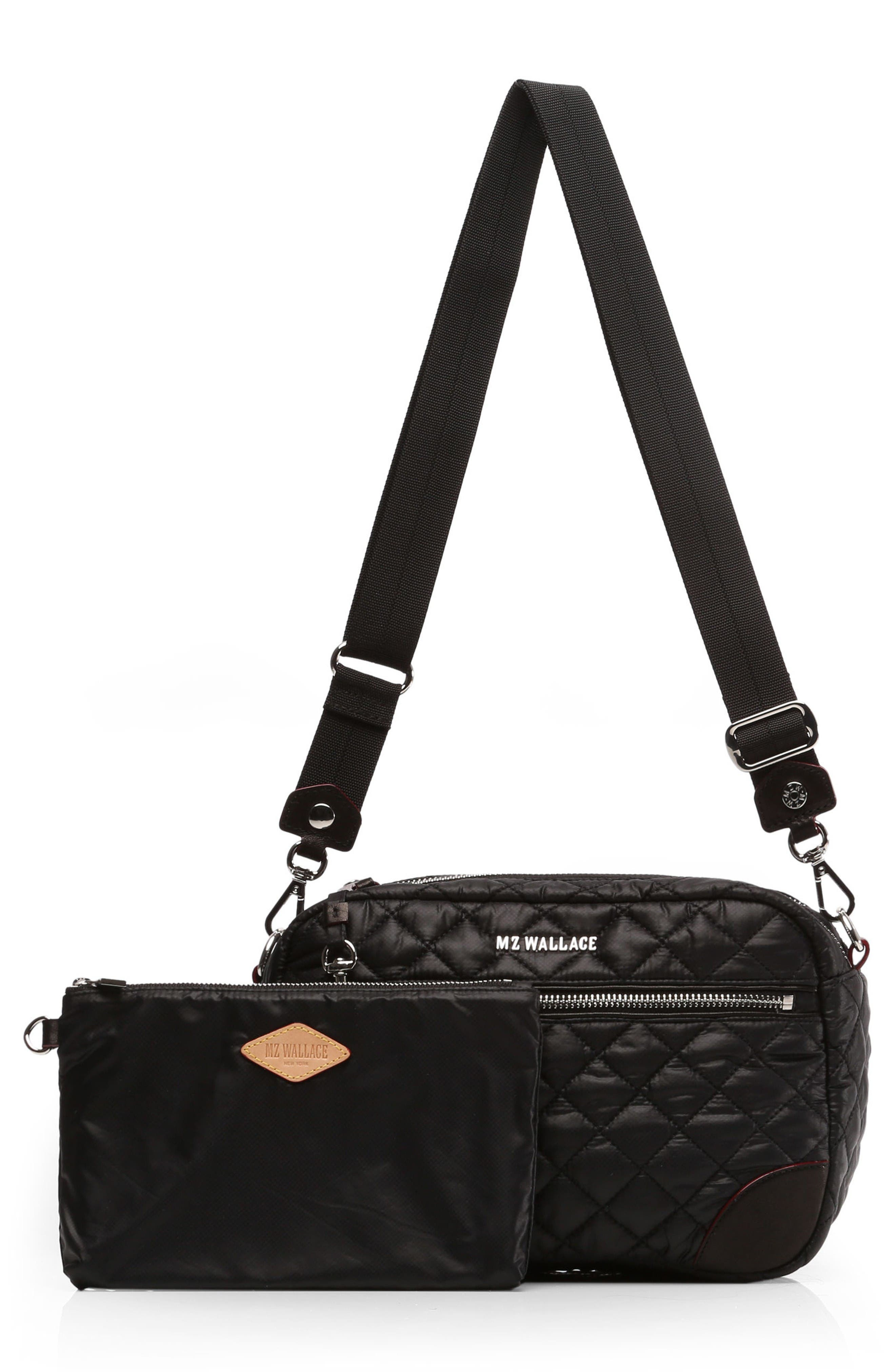 Small Crosby Bag,                             Alternate thumbnail 5, color,                             Black