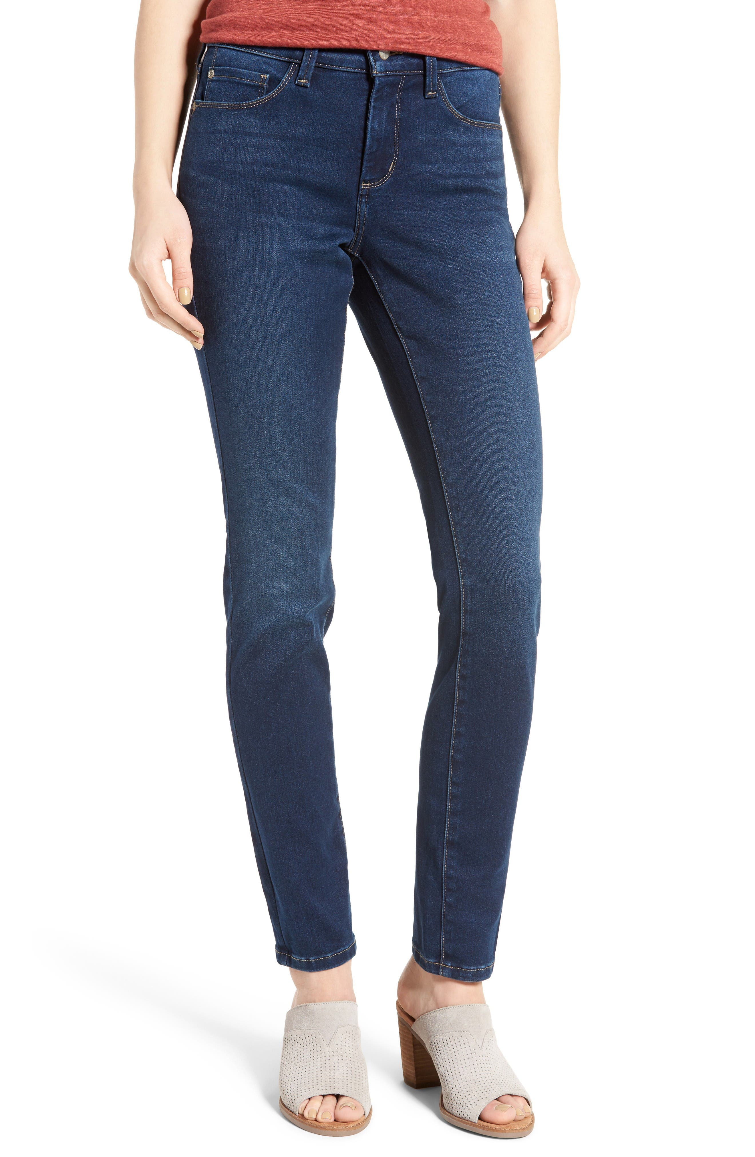 Alina Stretch Skinny Jeans,                         Main,                         color, Luxembourg