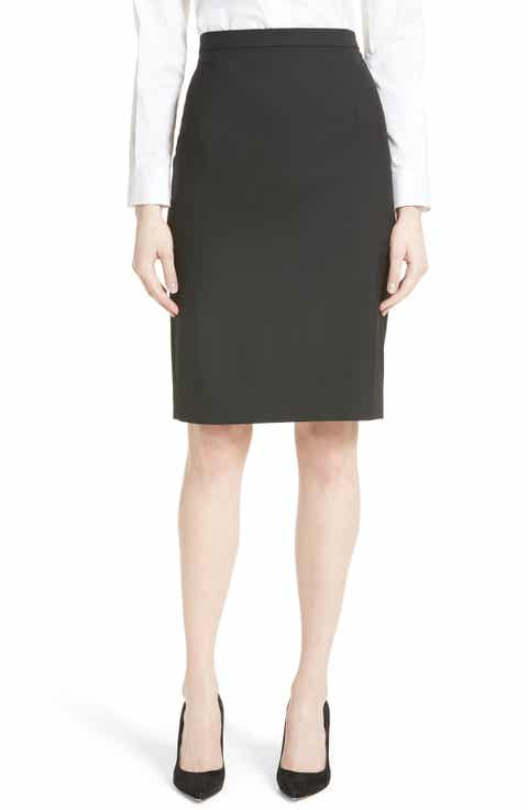 Theory Hemdall B Good Wool Suit Skirt (Nordstrom Exclusive) Best Reviews