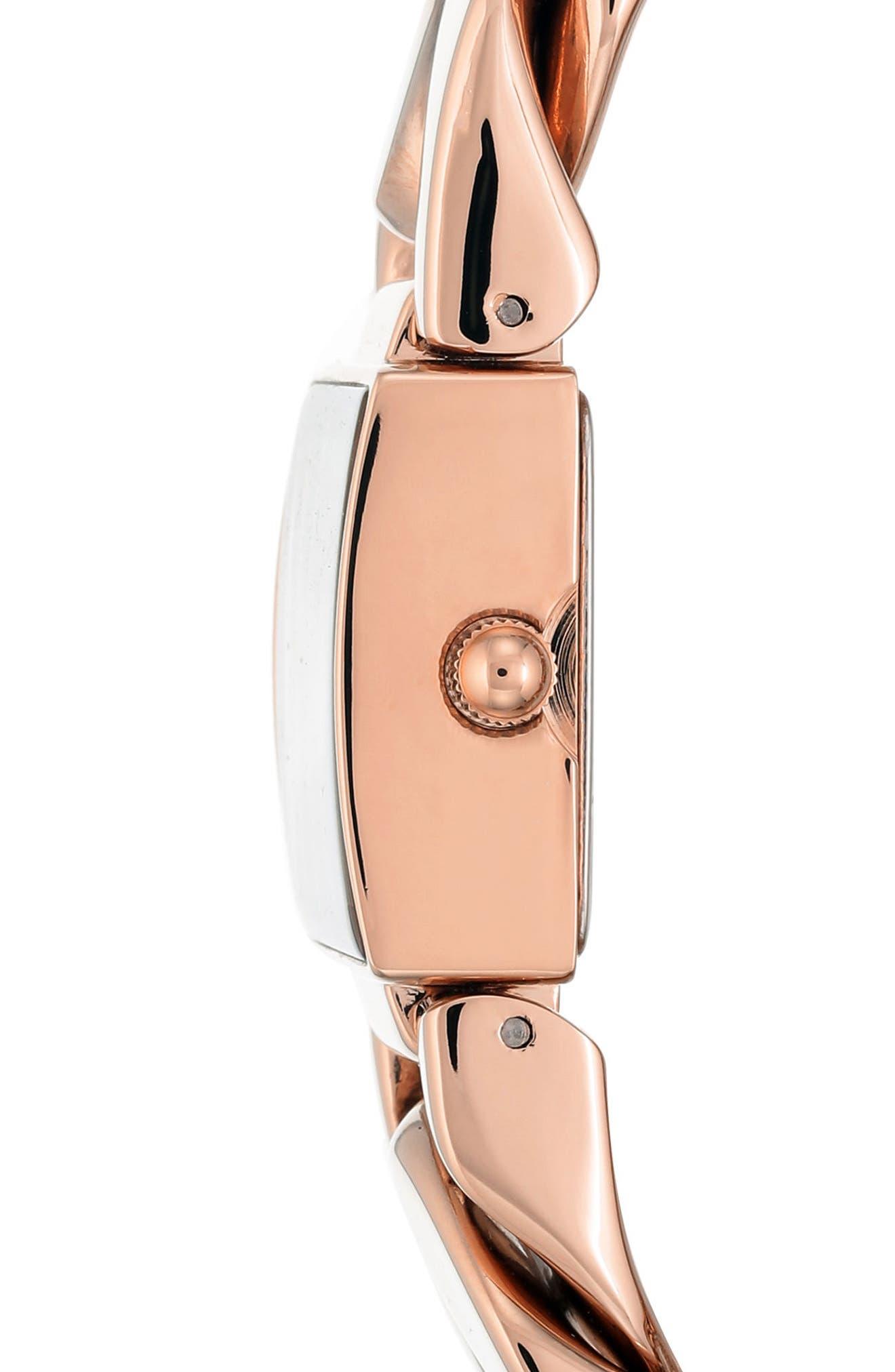 Alternate Image 3  - Anne Klein Bracelet Watch, 20.5mm