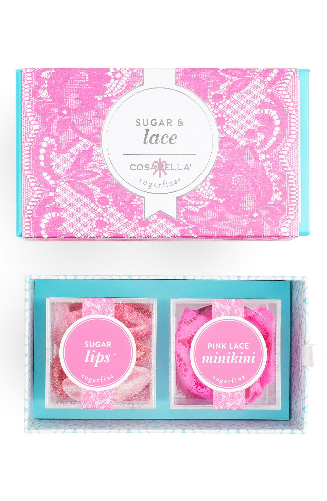 x Cosabella Gift Box Set,                             Alternate thumbnail 2, color,                             Pink/ Red