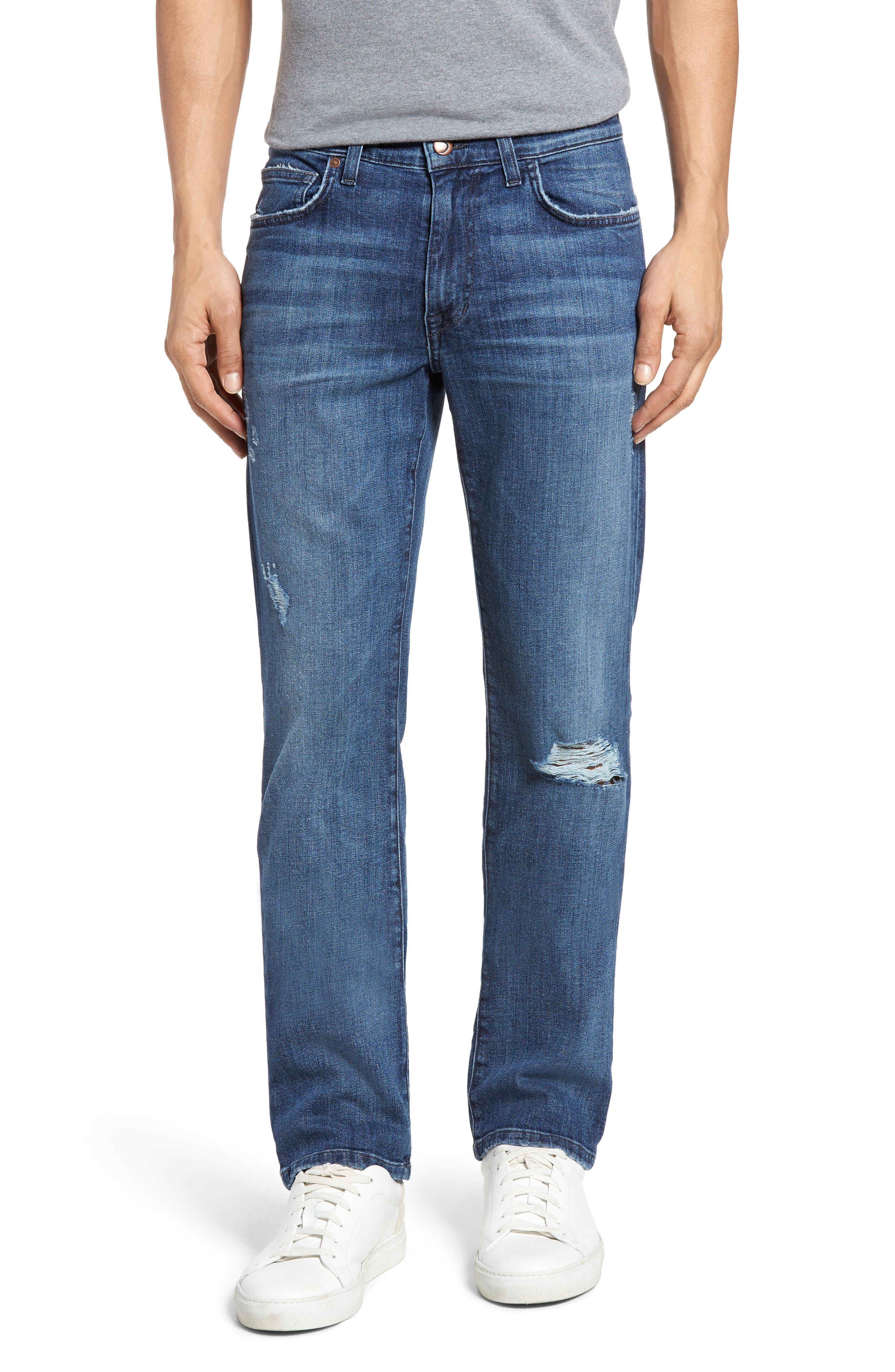 Brixton Slim Straight Leg Jeans,                         Main,                         color, Theron