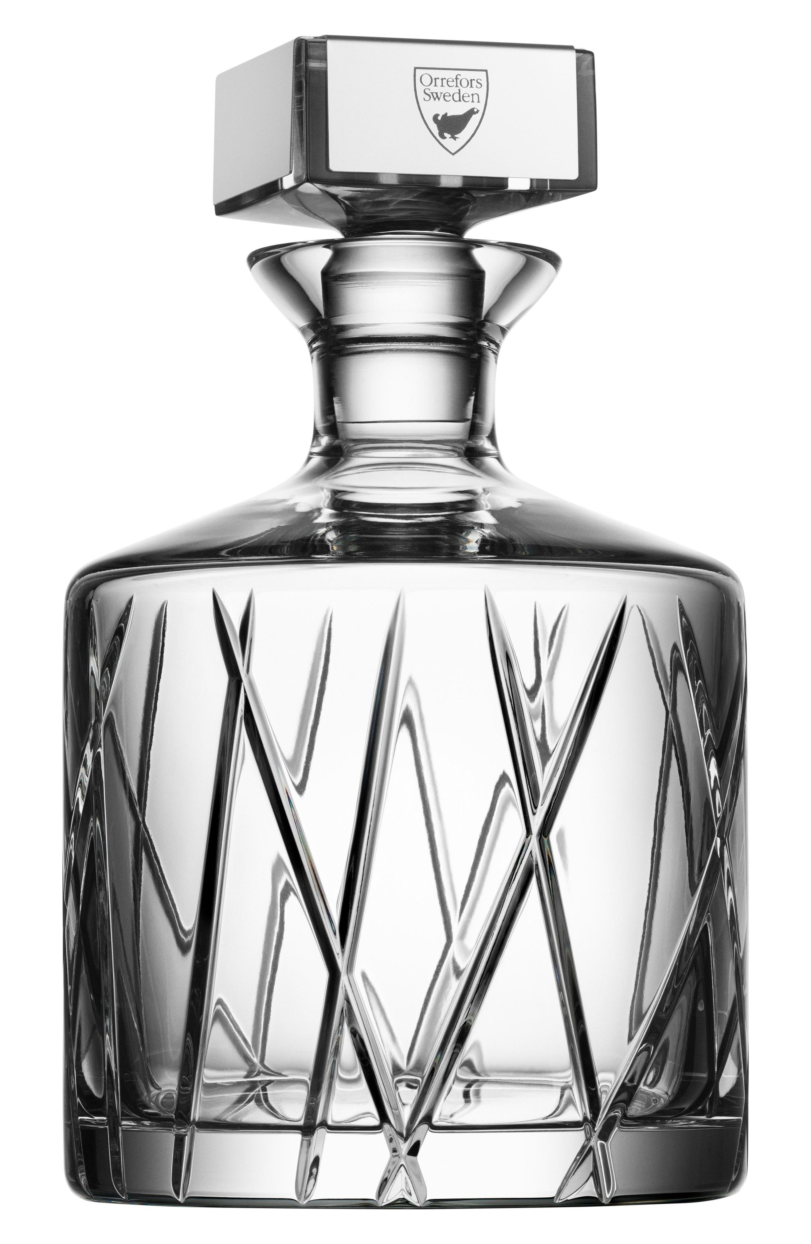 Orrefors City Crystal Decanter