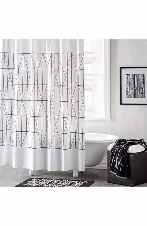 navy and cream shower curtain. DKNY Geometrix Shower Curtain Curtains Bath  Nordstrom
