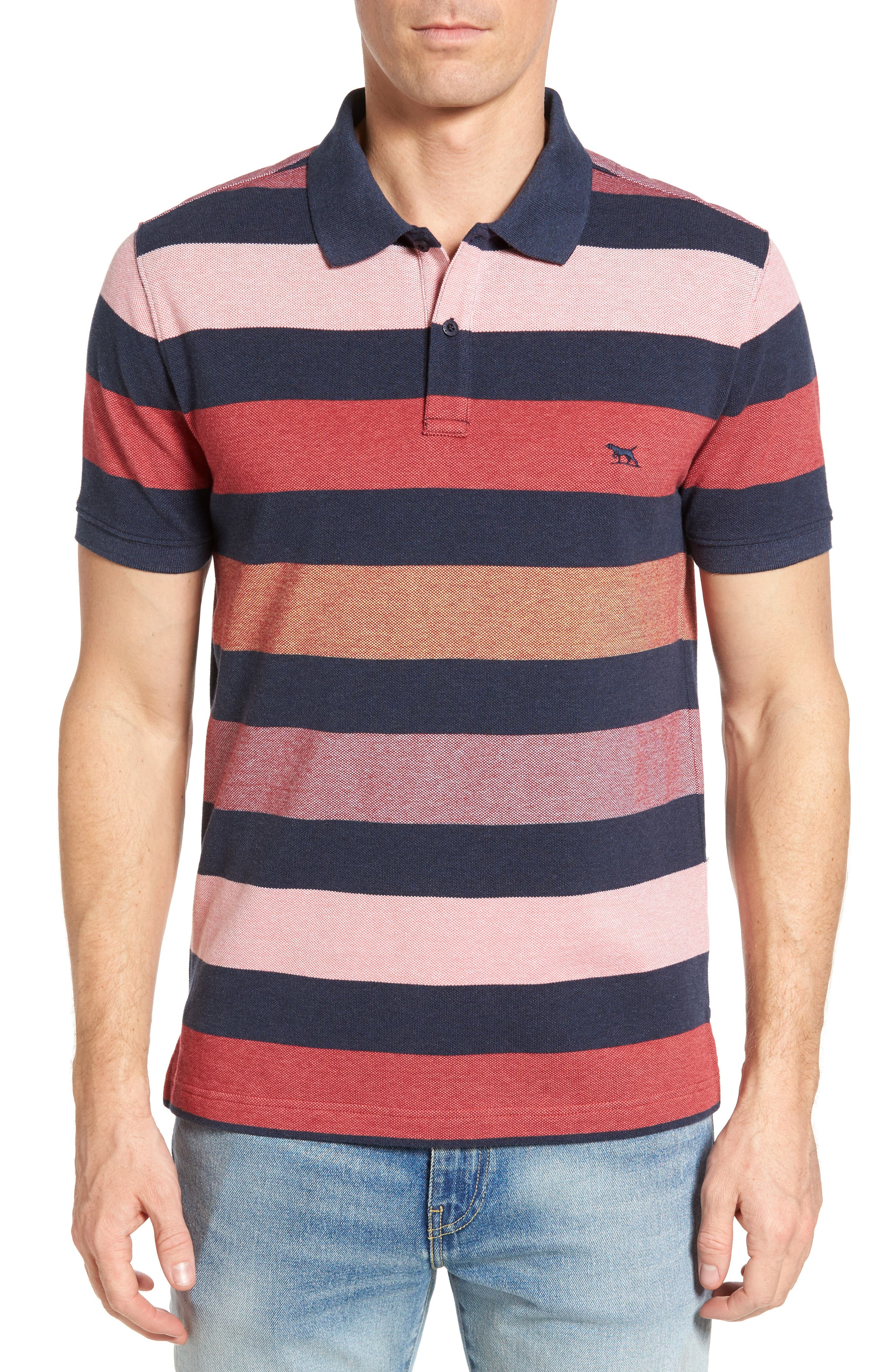 Rodd & Gunn Hutt Valley Stripe Piqué Polo