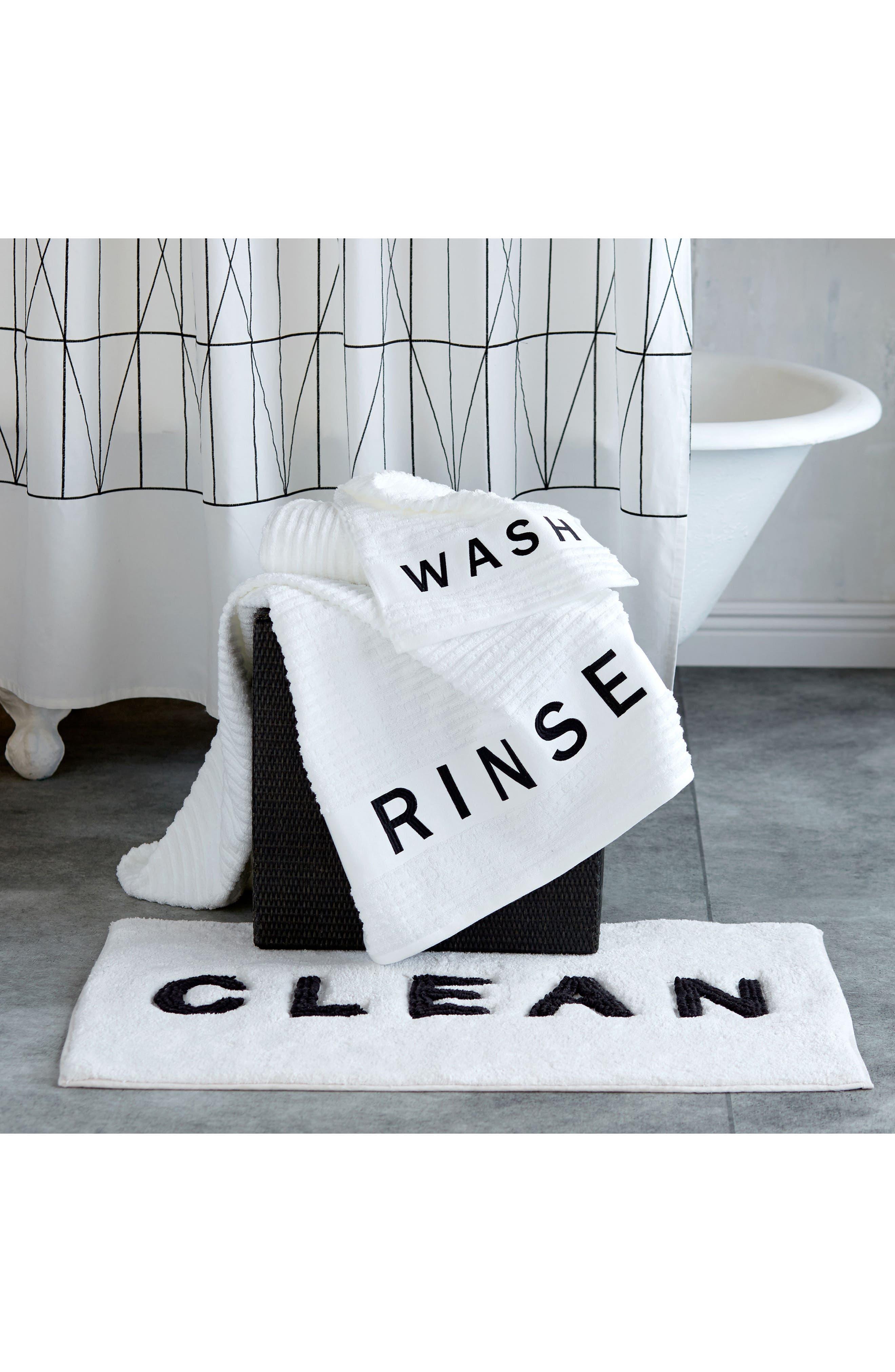 Alternate Image 3  - DKNY Chatter Fingertip Towel