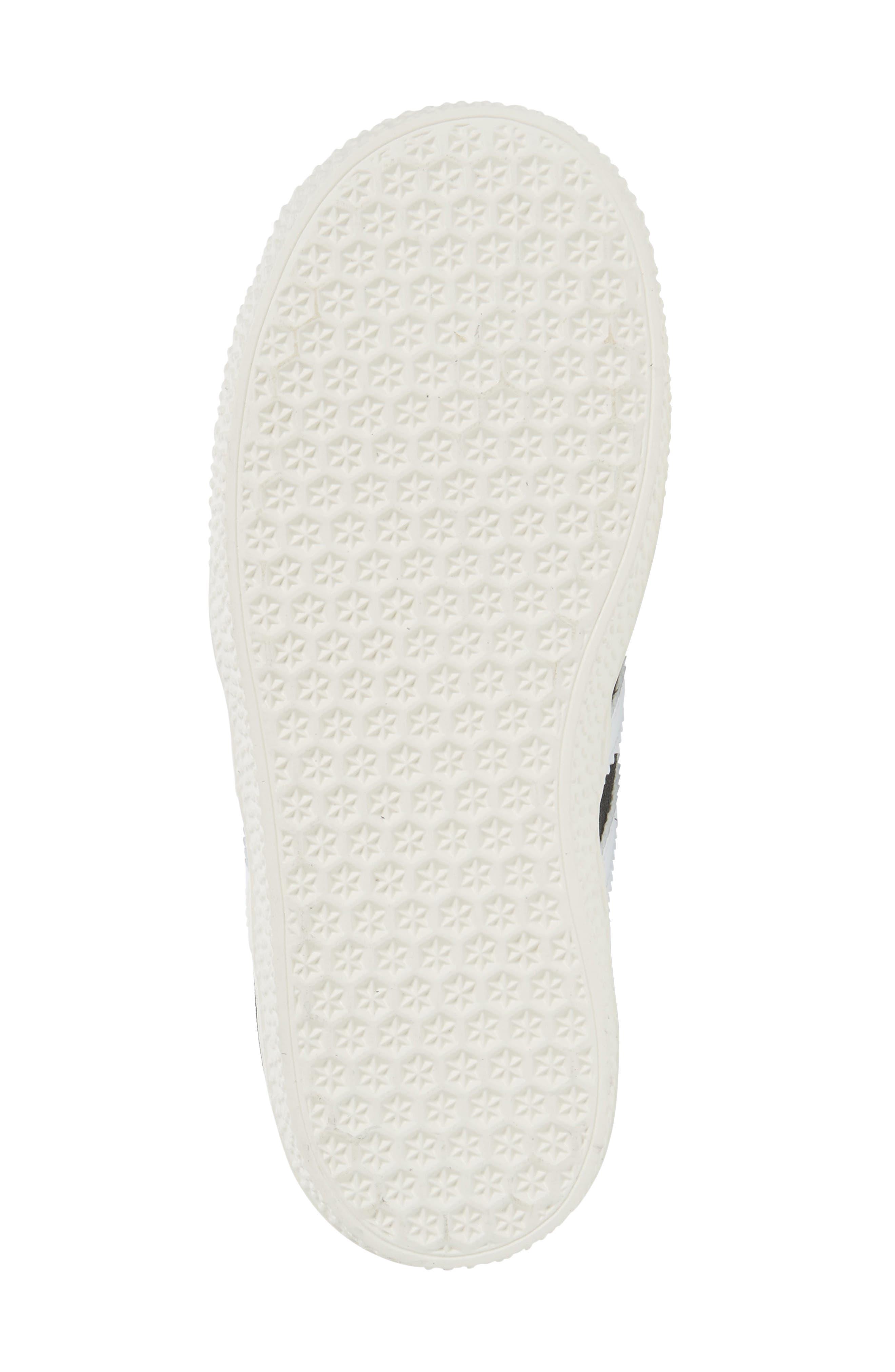 Alternate Image 4  - adidas Gazelle Sneaker (Baby, Walker & Toddler)