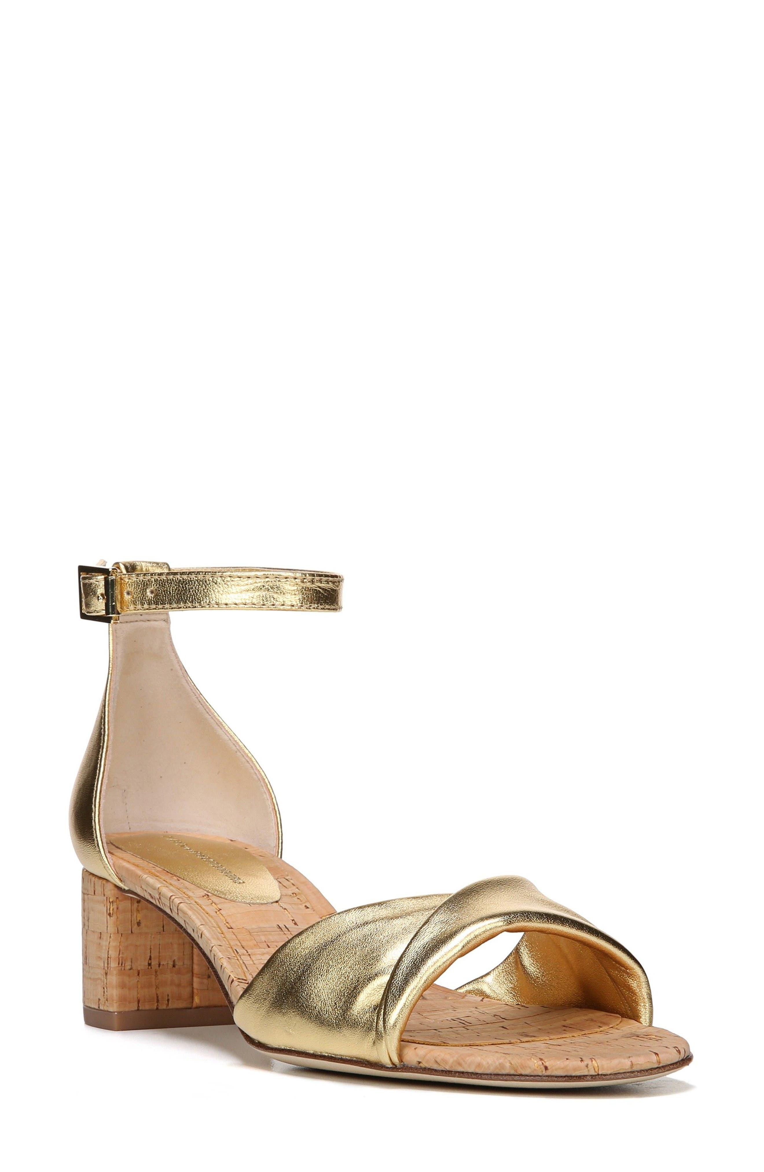 DIANE VON FURSTENBERG Florence Ankle Strap Sandal