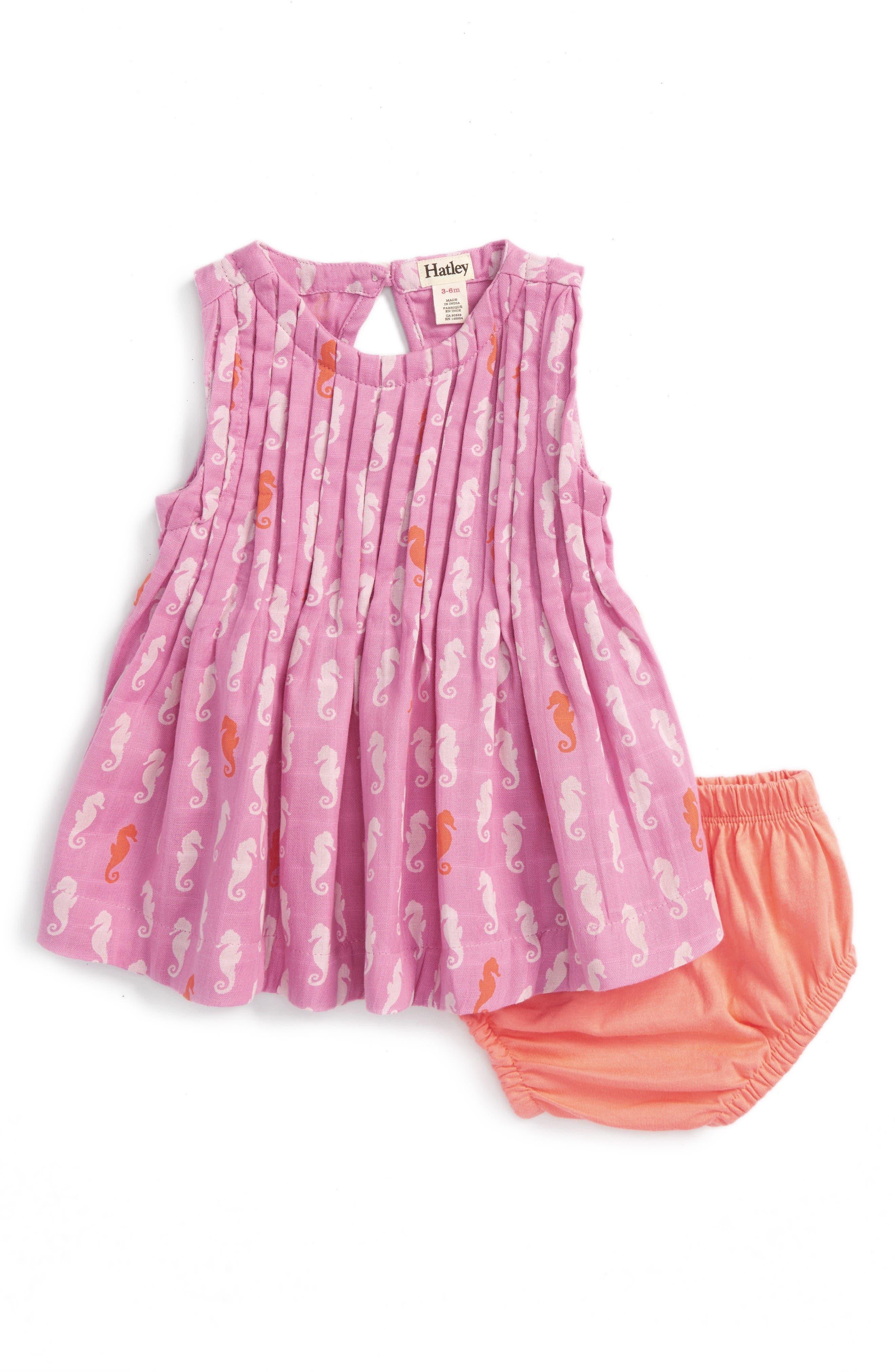 Hatley Pintuck Dress (Baby Girls)