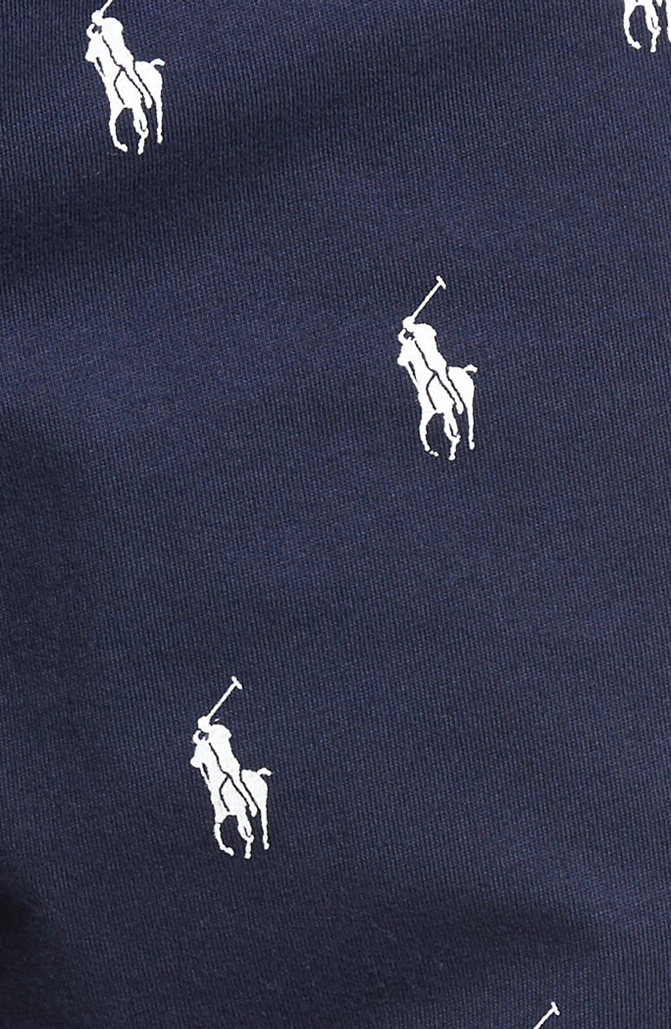 Alternate Image 5  - Polo Ralph Lauren Knit Pony Lounge Pants