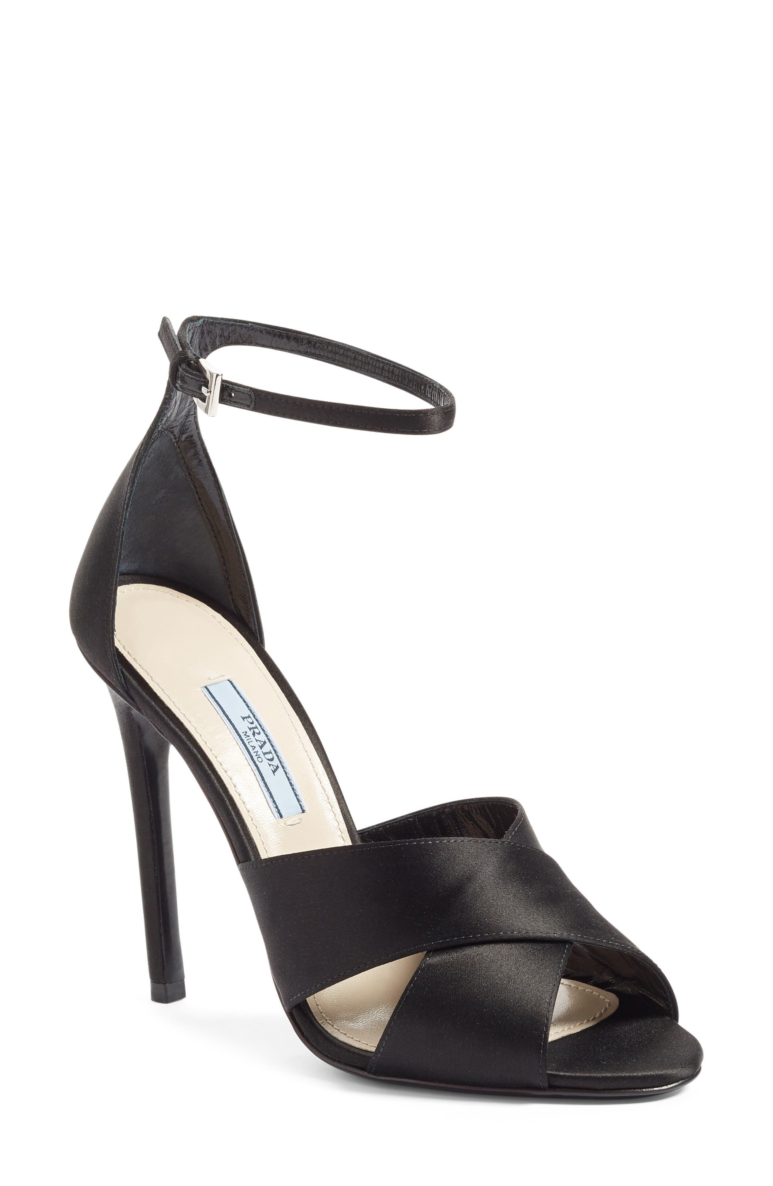 Prada Ankle Strap Sandal (Women)