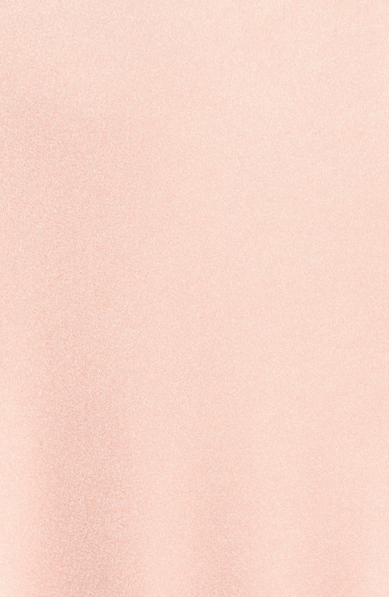 Alternate Image 5  - Xscape Cross Back Gown (Regular & Petite)