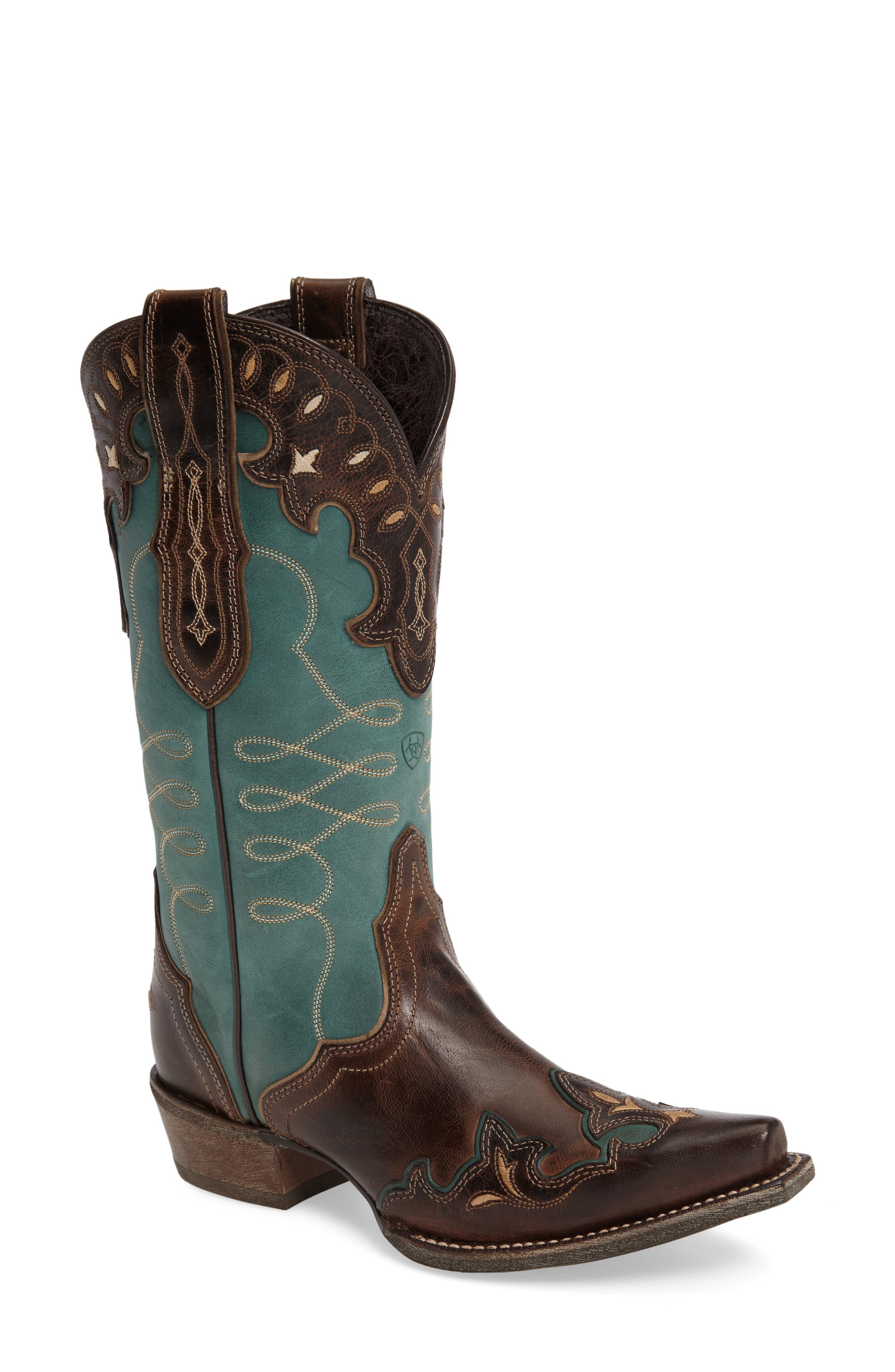 Ariat Zealous Wingtip Western Boot (Women)