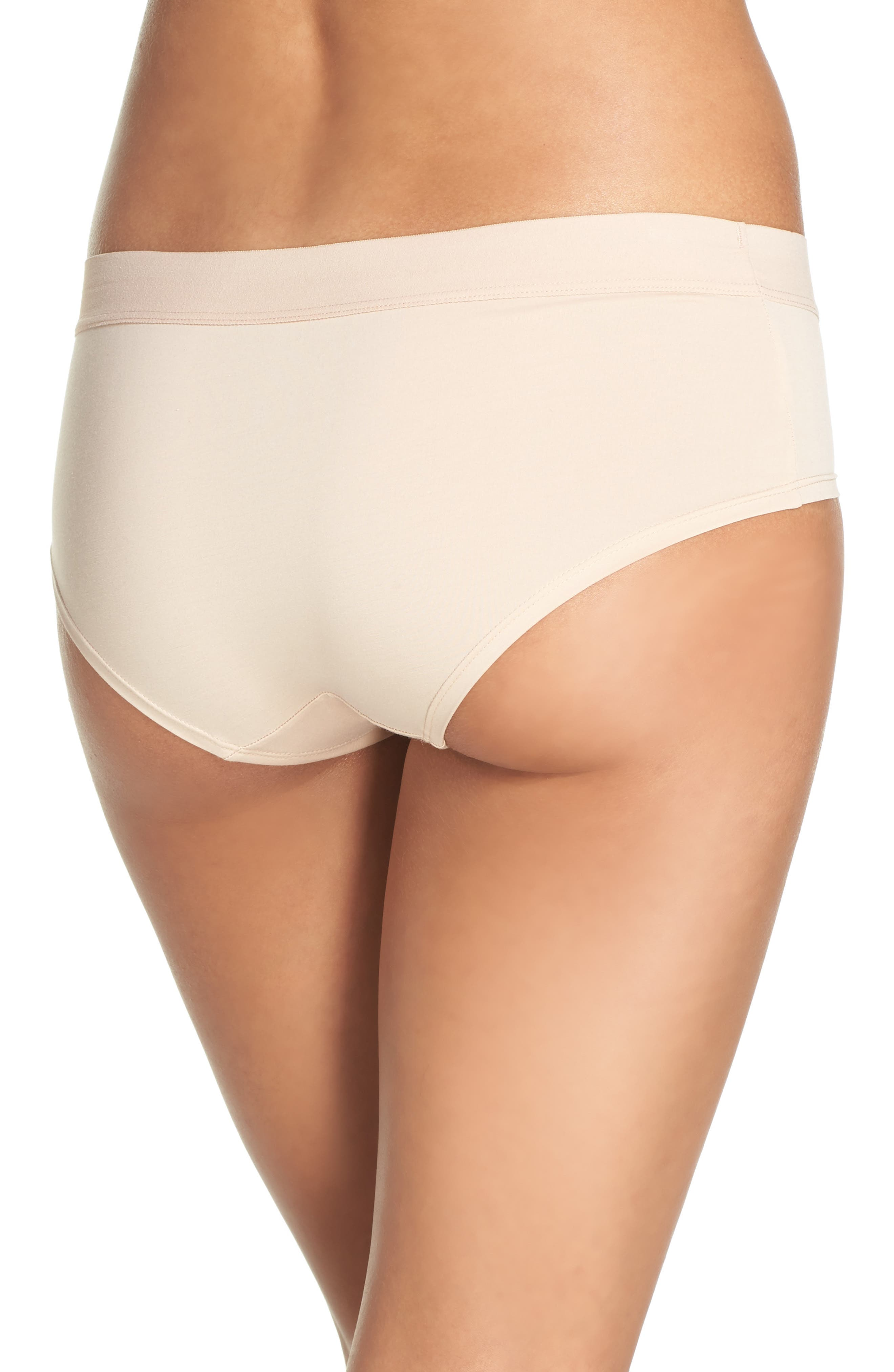 Alternate Image 2  - DKNY Hipster Panties (3 for $33)