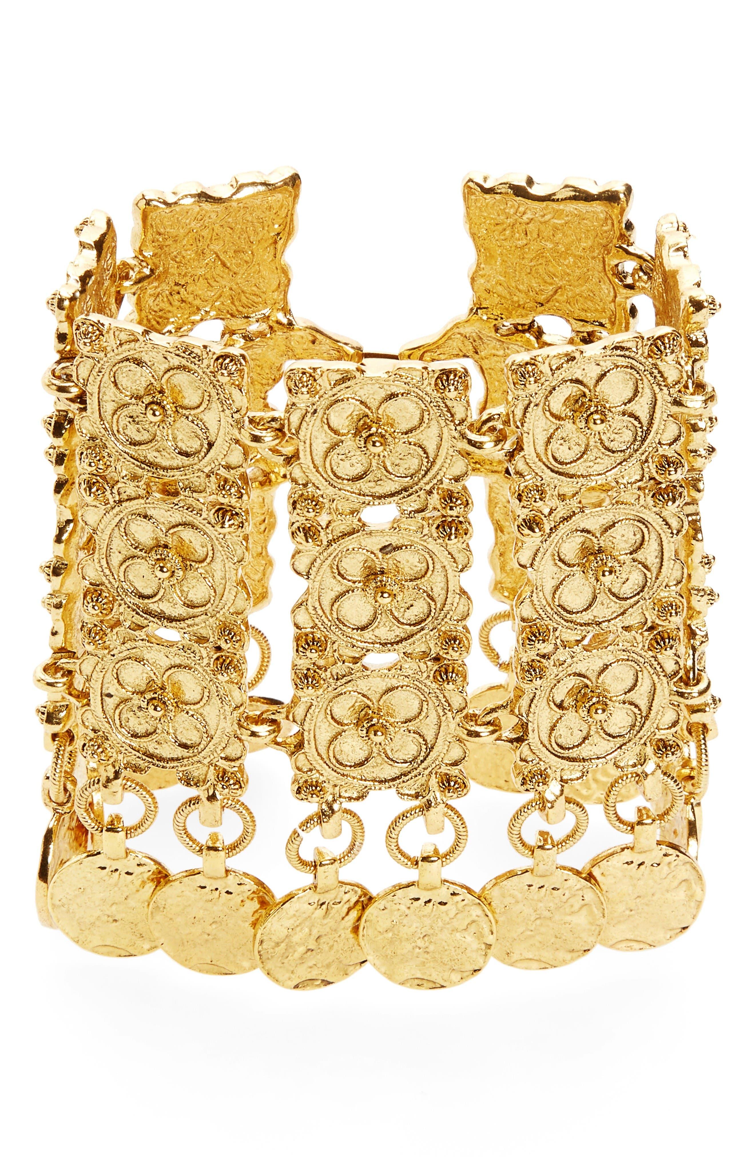 Oscar de la Renta Swirl Bracelet