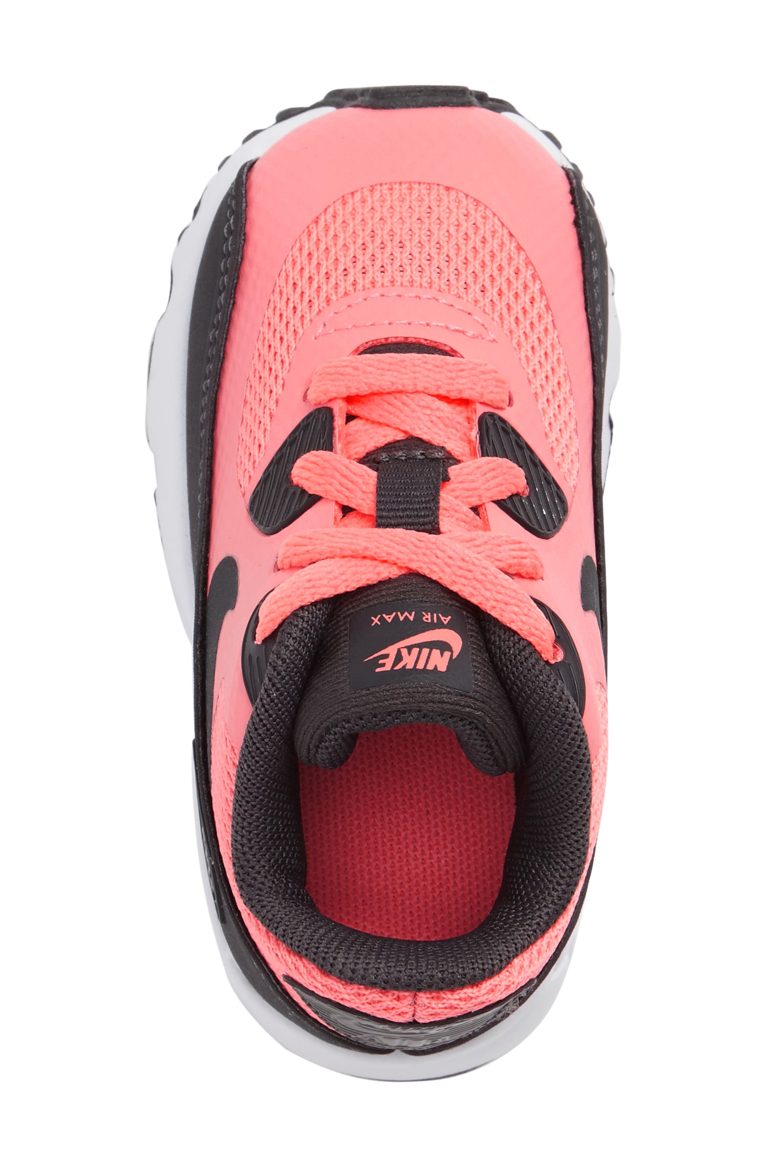 Air Max 90 Ultra 2.0 Sneaker,                             Alternate thumbnail 3, color,                             Lava Glow/ Anthracite/ White