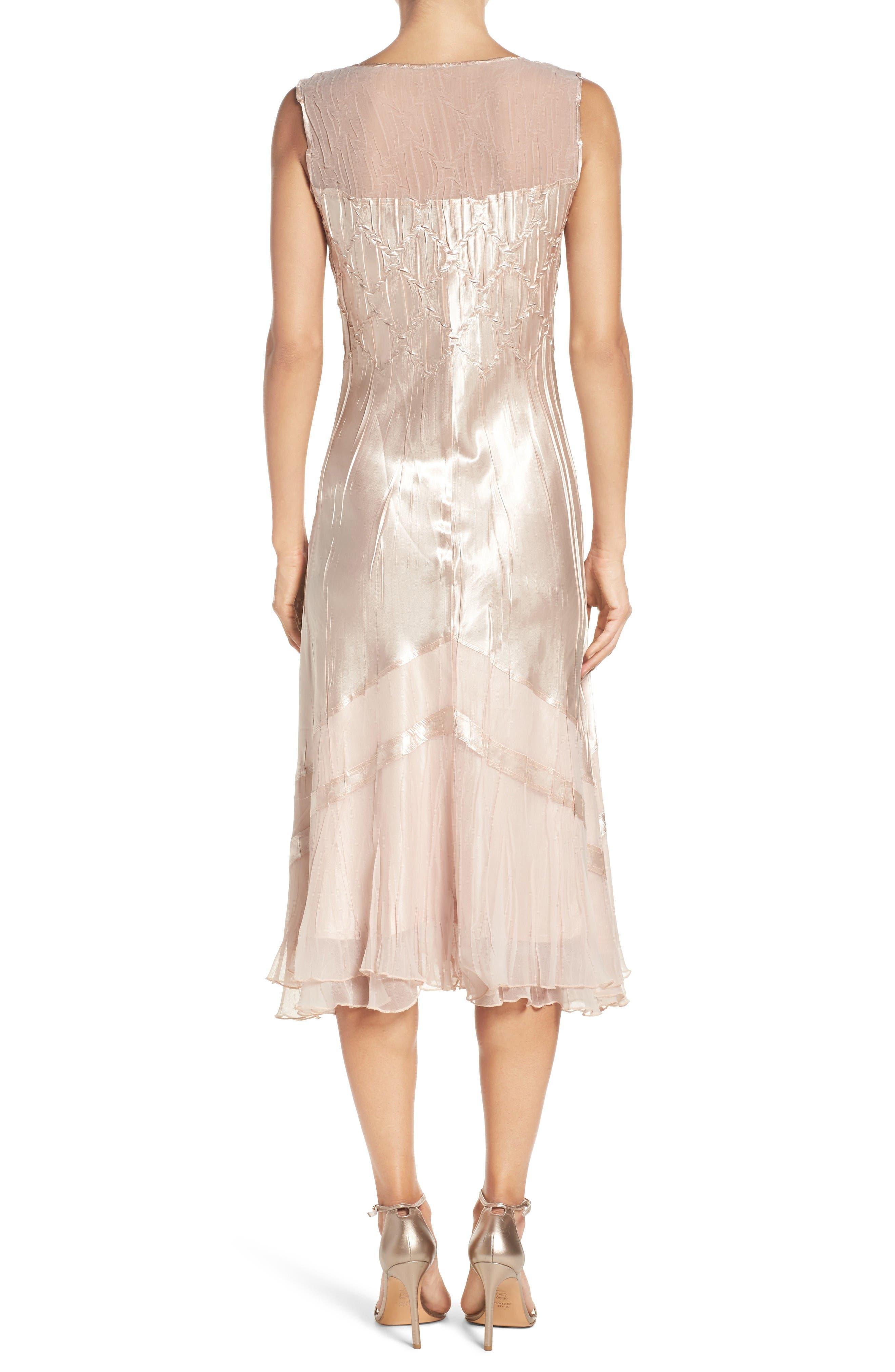 Alternate Image 2  - Komarov Embellished Midi Dress & Cascade Jacket (Regular & Petite)