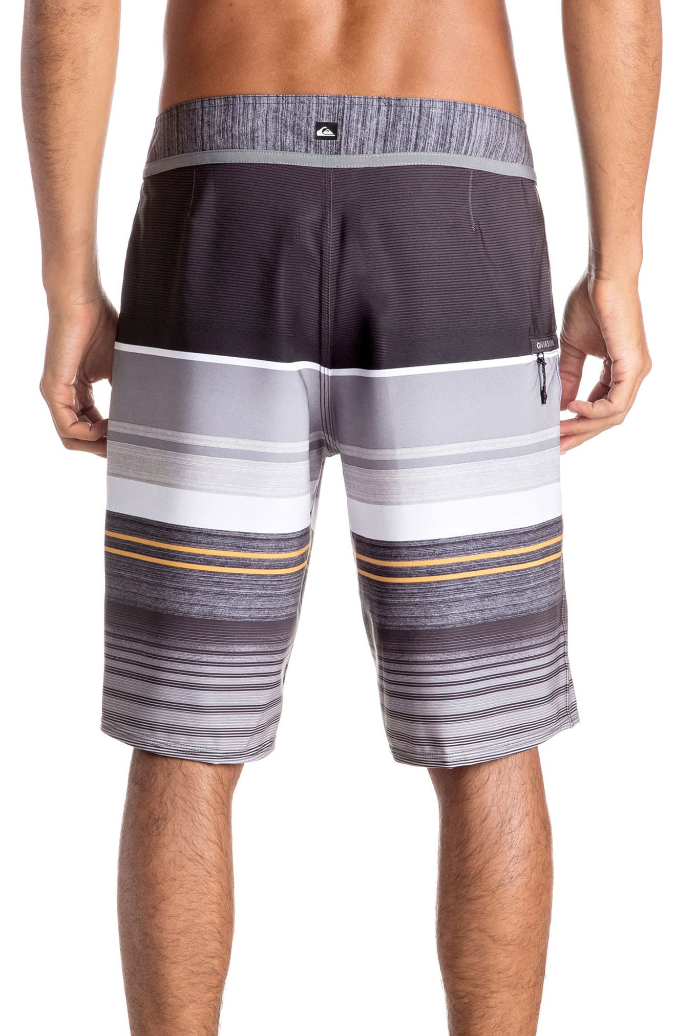 Alternate Image 2  - Quiksilver Everyday Stripe Board Shorts