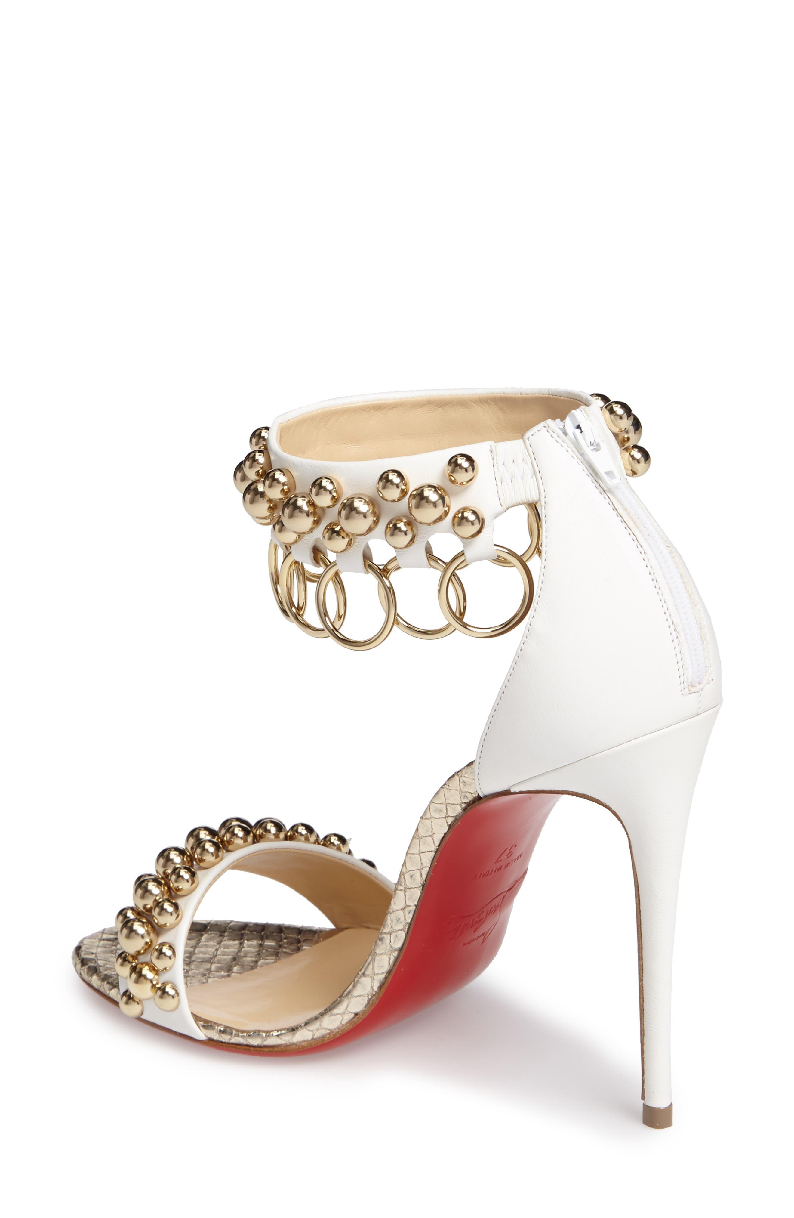 Alternate Image 2  - Christian Louboutin Gypsandal Ankle Cuff Sandal (Women)