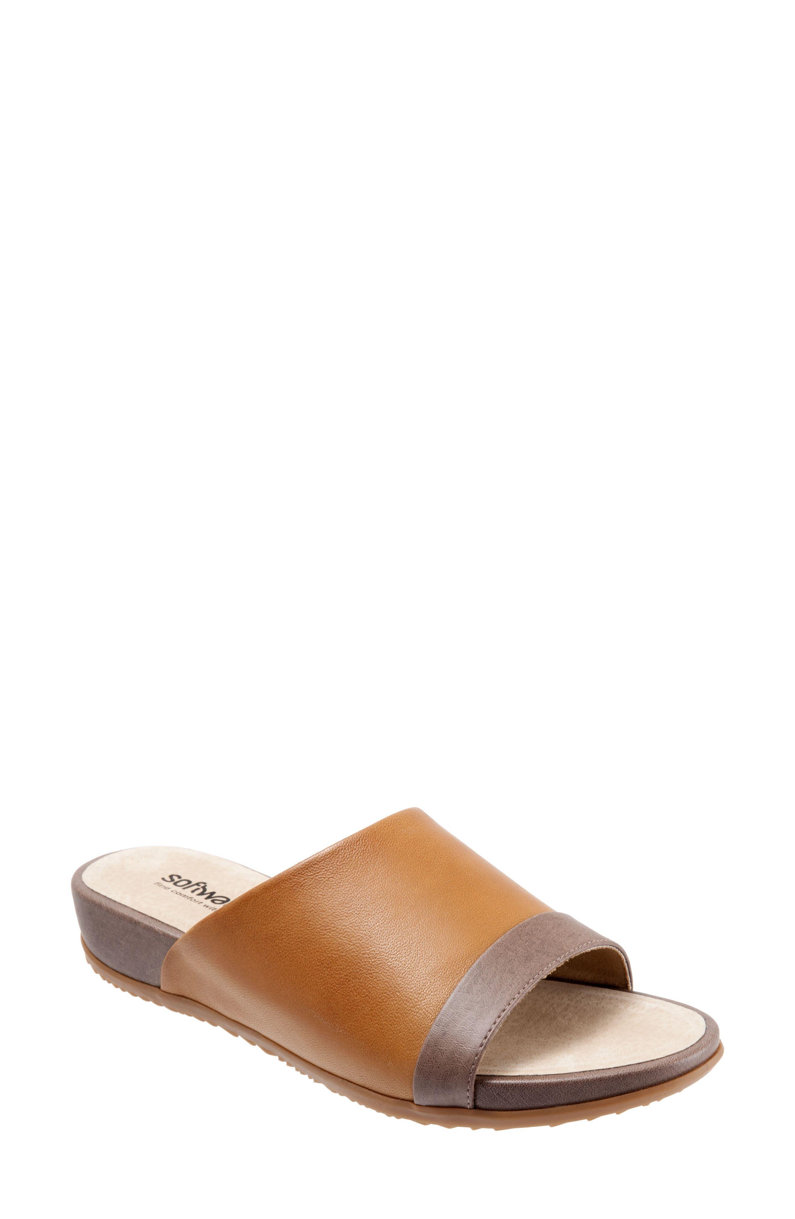 Alternate Image 1 Selected - SoftWalk® Del Mar Slide Sandal (Women)