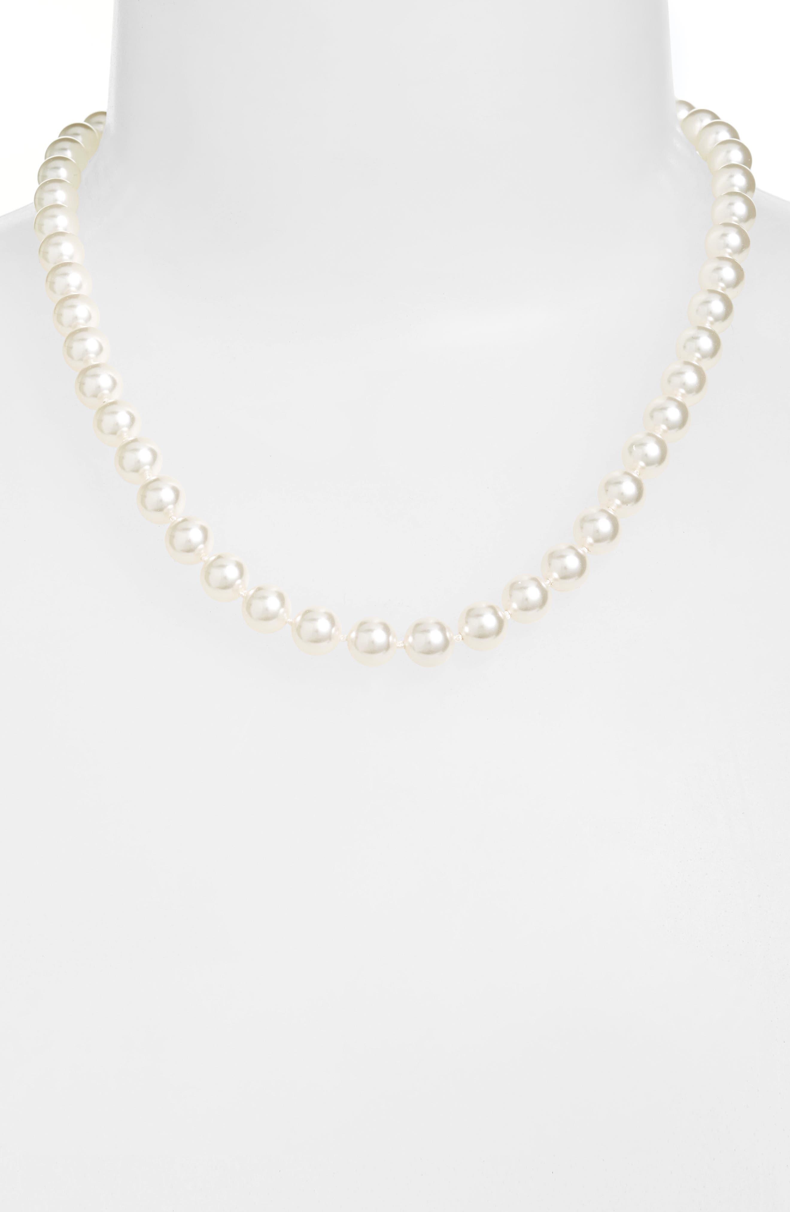 Main Image - Nadri 18-Inch Glass Pearl Strand Necklace