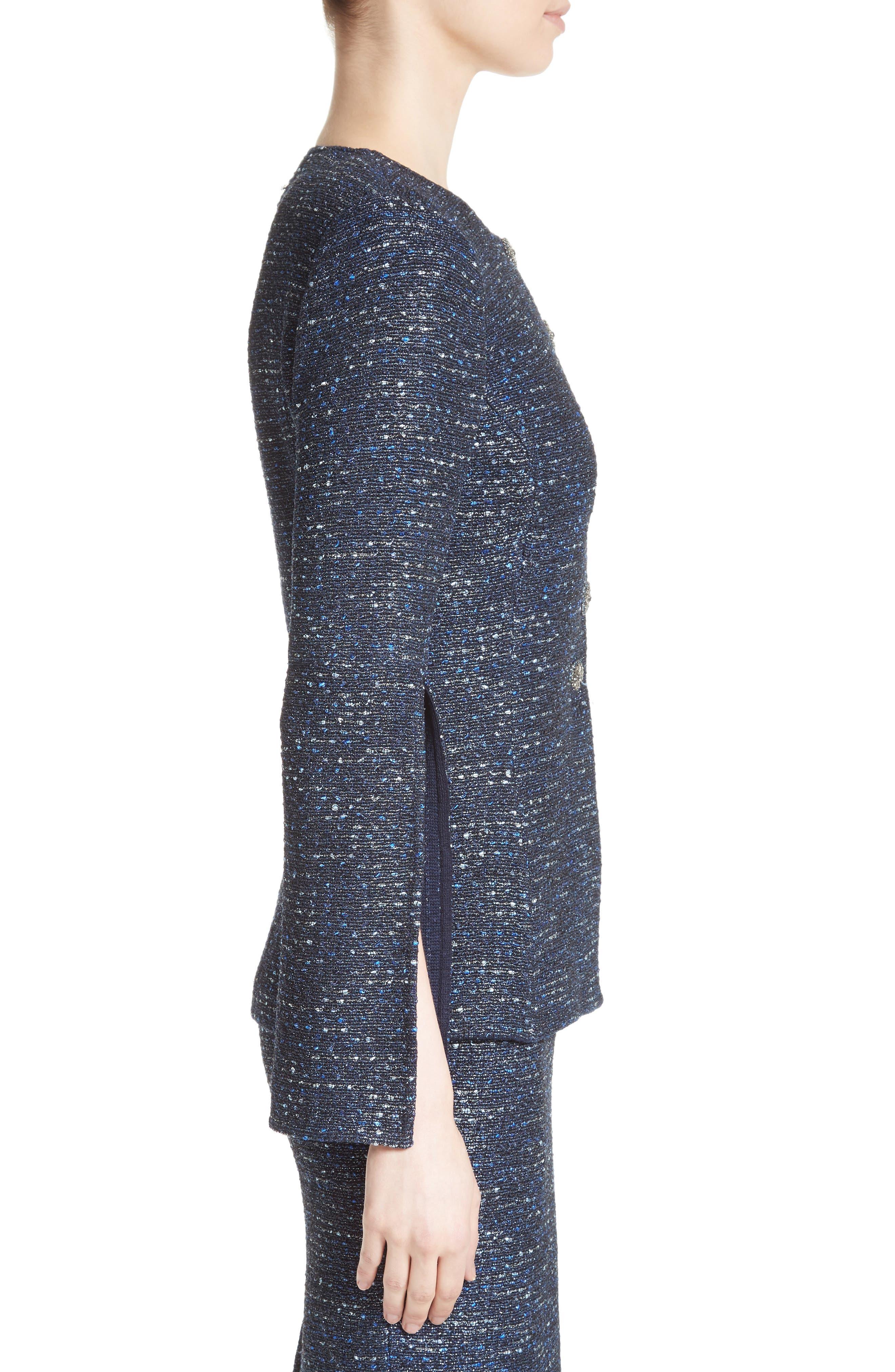 Alternate Image 3  - St. John Collection Alisha Sparkle Tweed Jacket