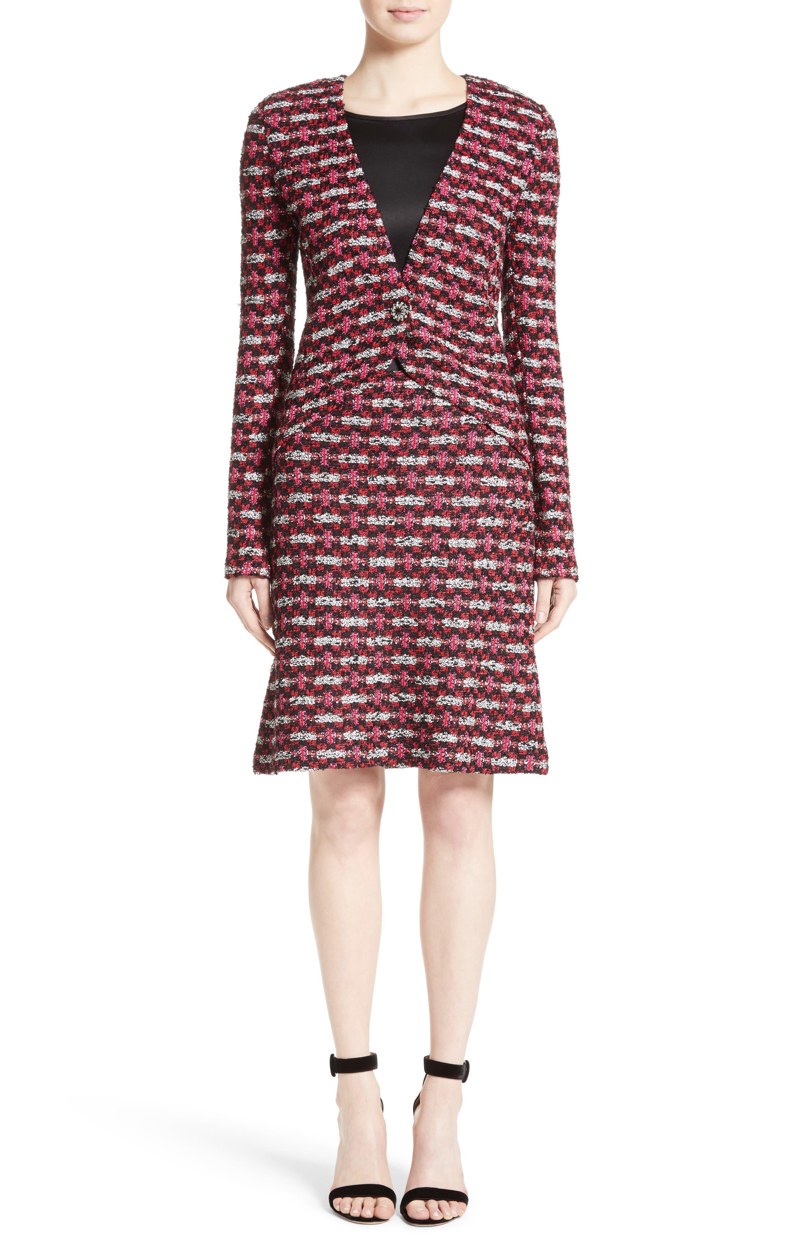 Alternate Image 7  - St. John Collection Hiran Tweed Knit Jacket