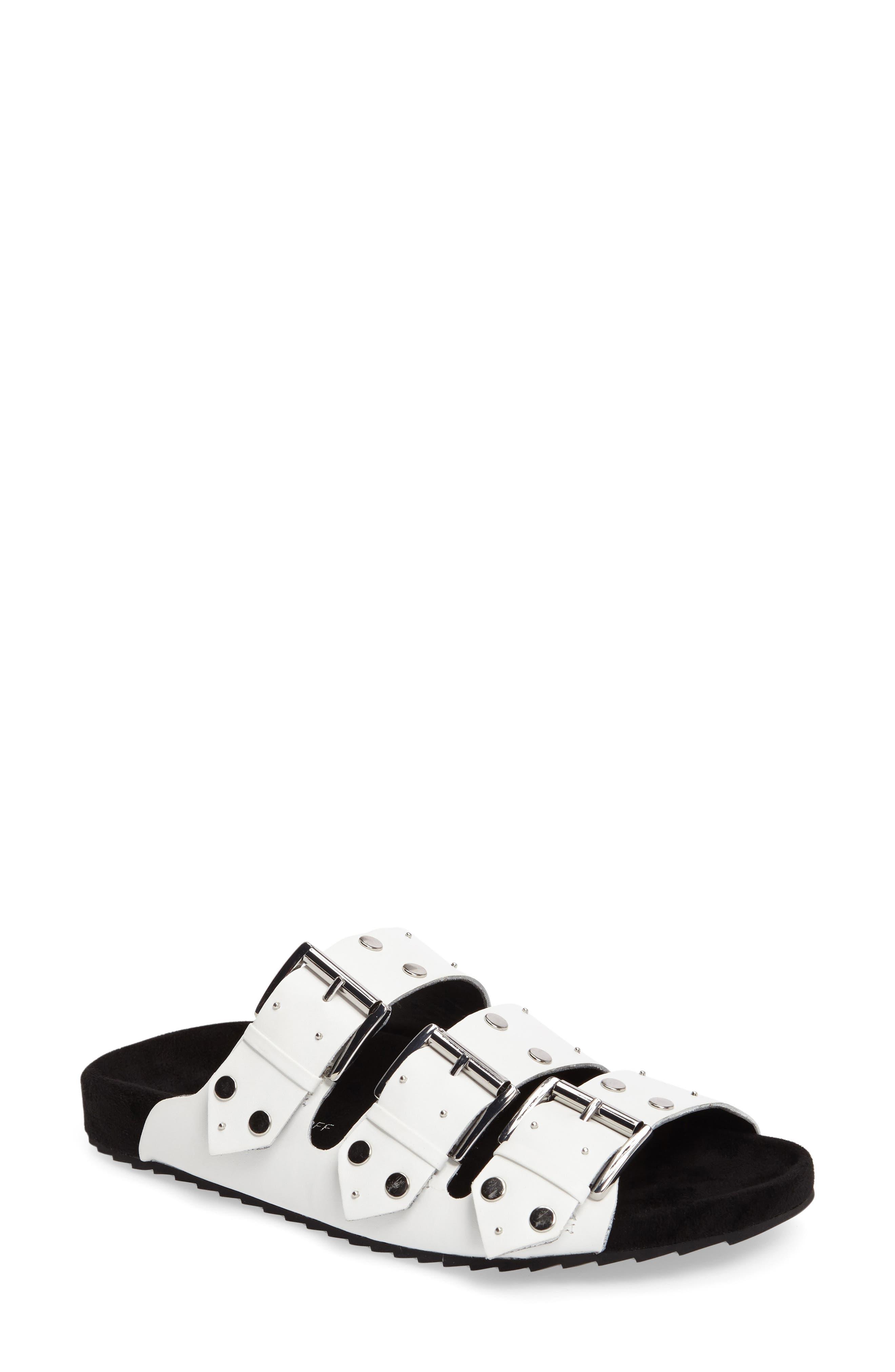 Rebecca Minkoff Tania Slide Sandal (Women)