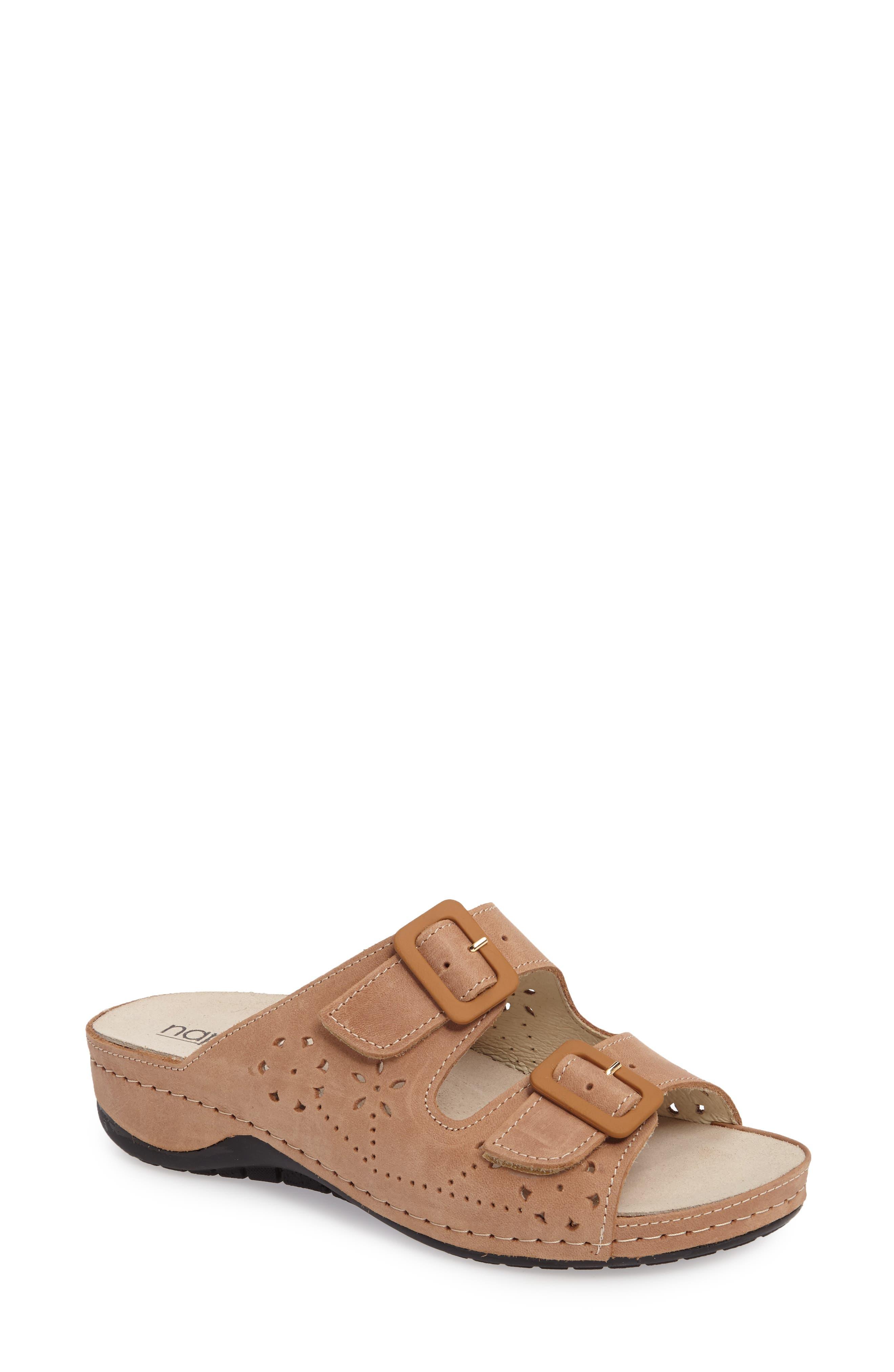 Alternate Image 1 Selected - Napa Flex Double Strap Slide Sandal (Women)