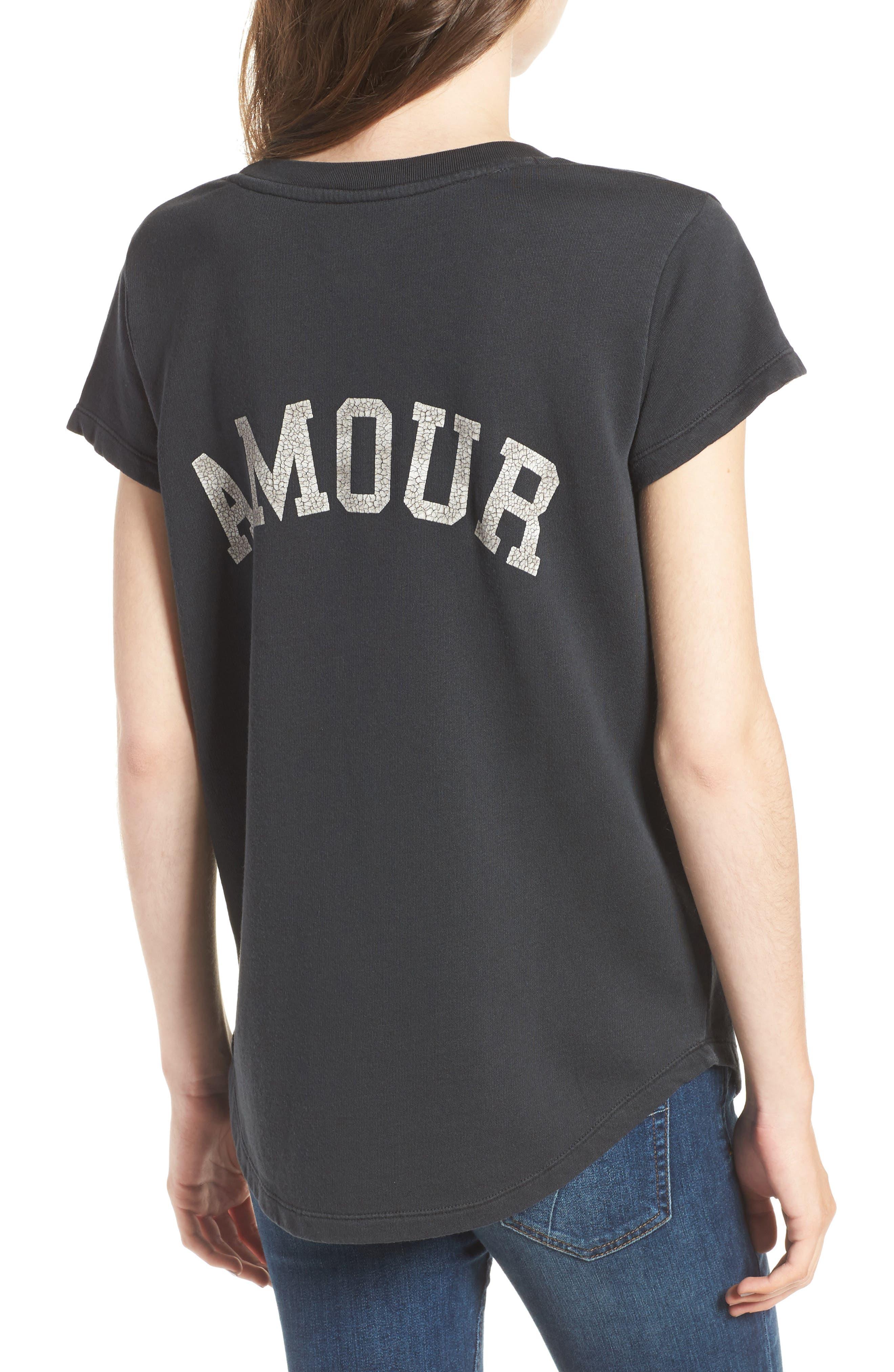 Alternate Image 2  - Zadig & Voltaire Seattle Bis Overdyed Sweatshirt