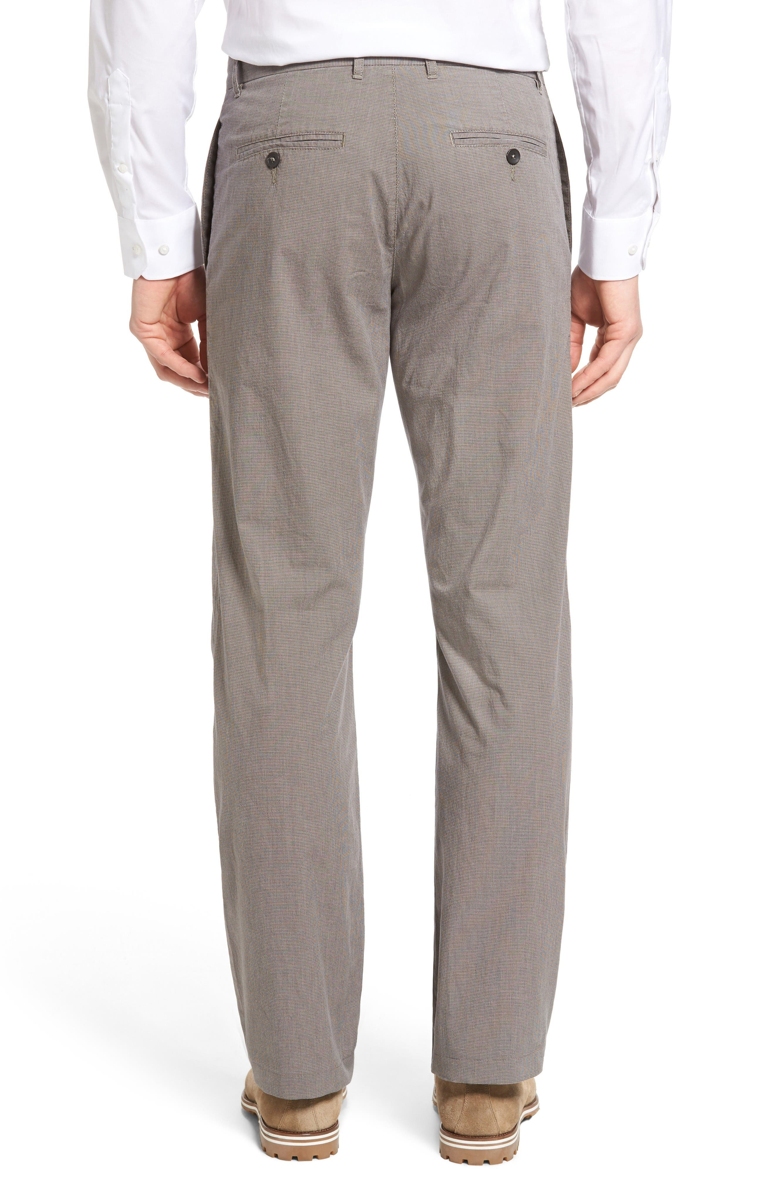 Woodward Regular Fit Trousers,                             Alternate thumbnail 2, color,                             Natural