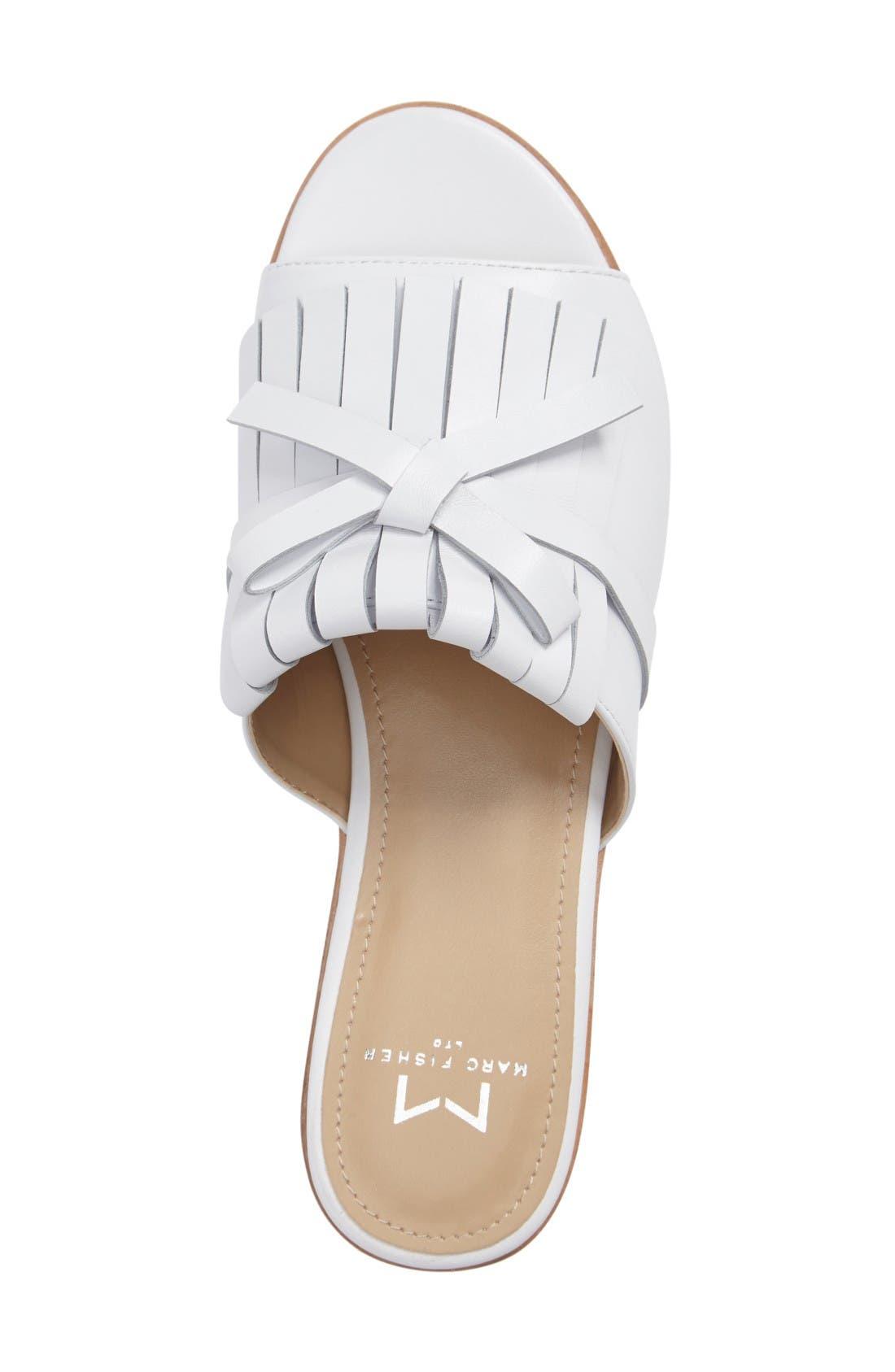 Alternate Image 3  - Marc Fisher LTD Whitley Slide Sandal (Women)