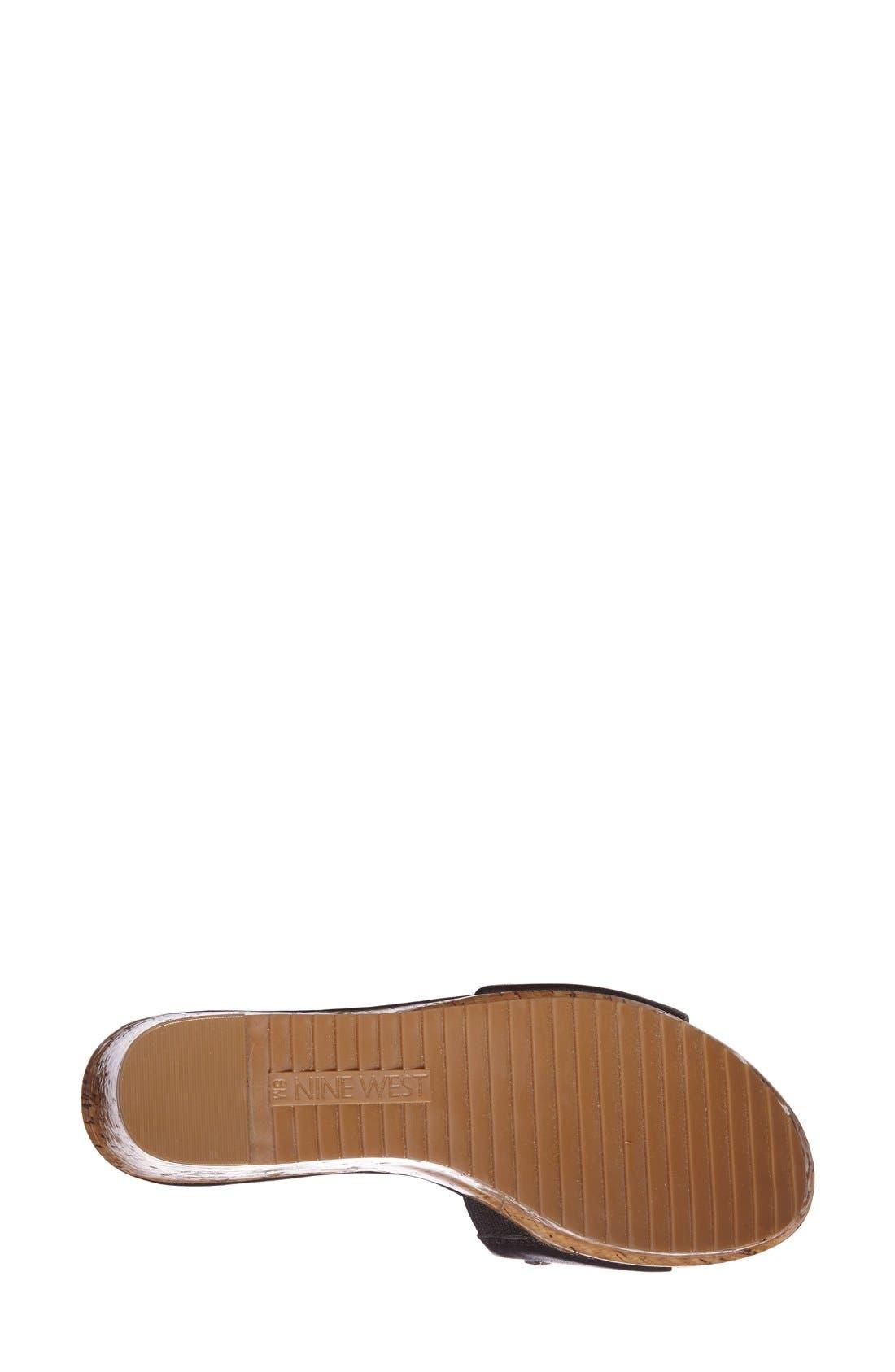 Alternate Image 4  - Nine West 'Casandre' Slide Sandal (Women)