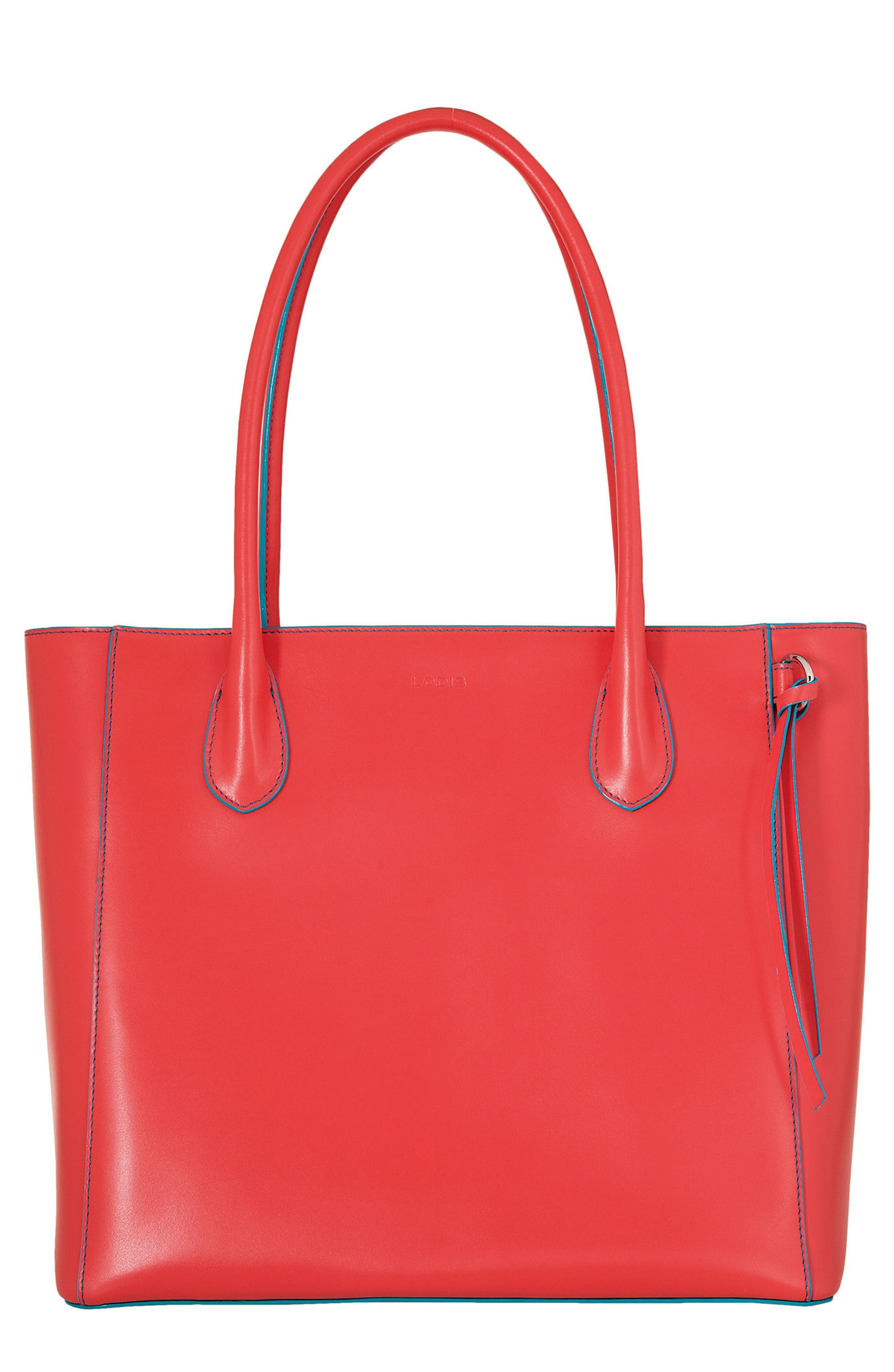 LODIS Cecily Leather Tote