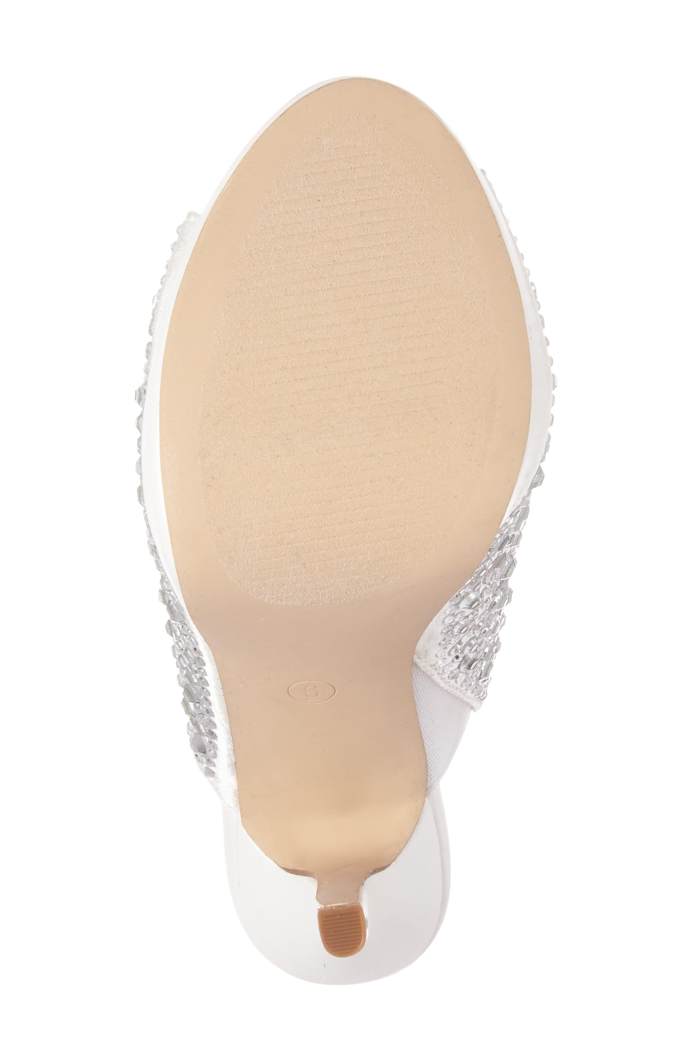 Alternate Image 4  - Lauren Lorraine Mimi Embellished Slide Sandal (Women)