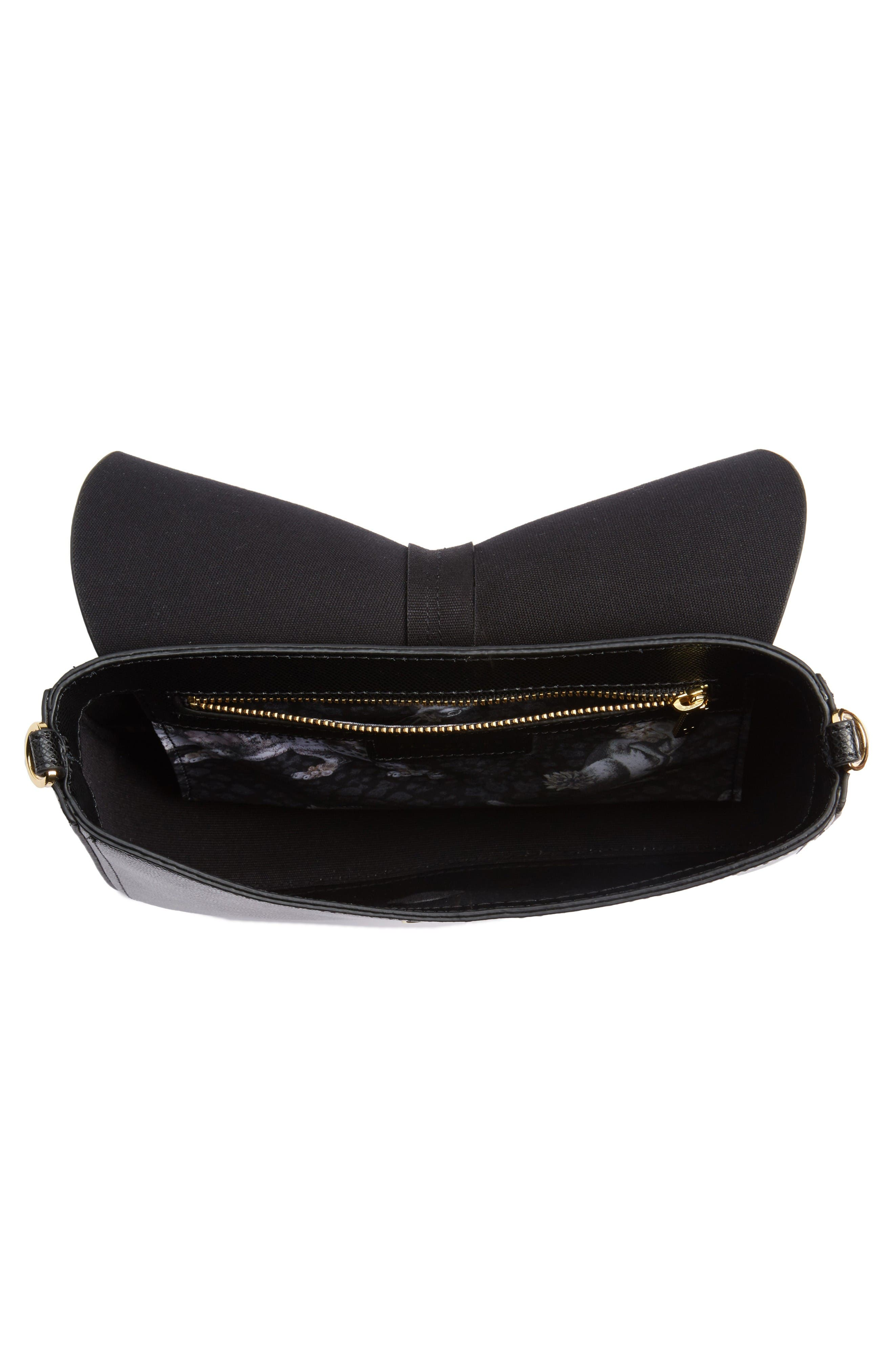 Alternate Image 4  - Ted Baker London Cat Leather Crossbody Bag