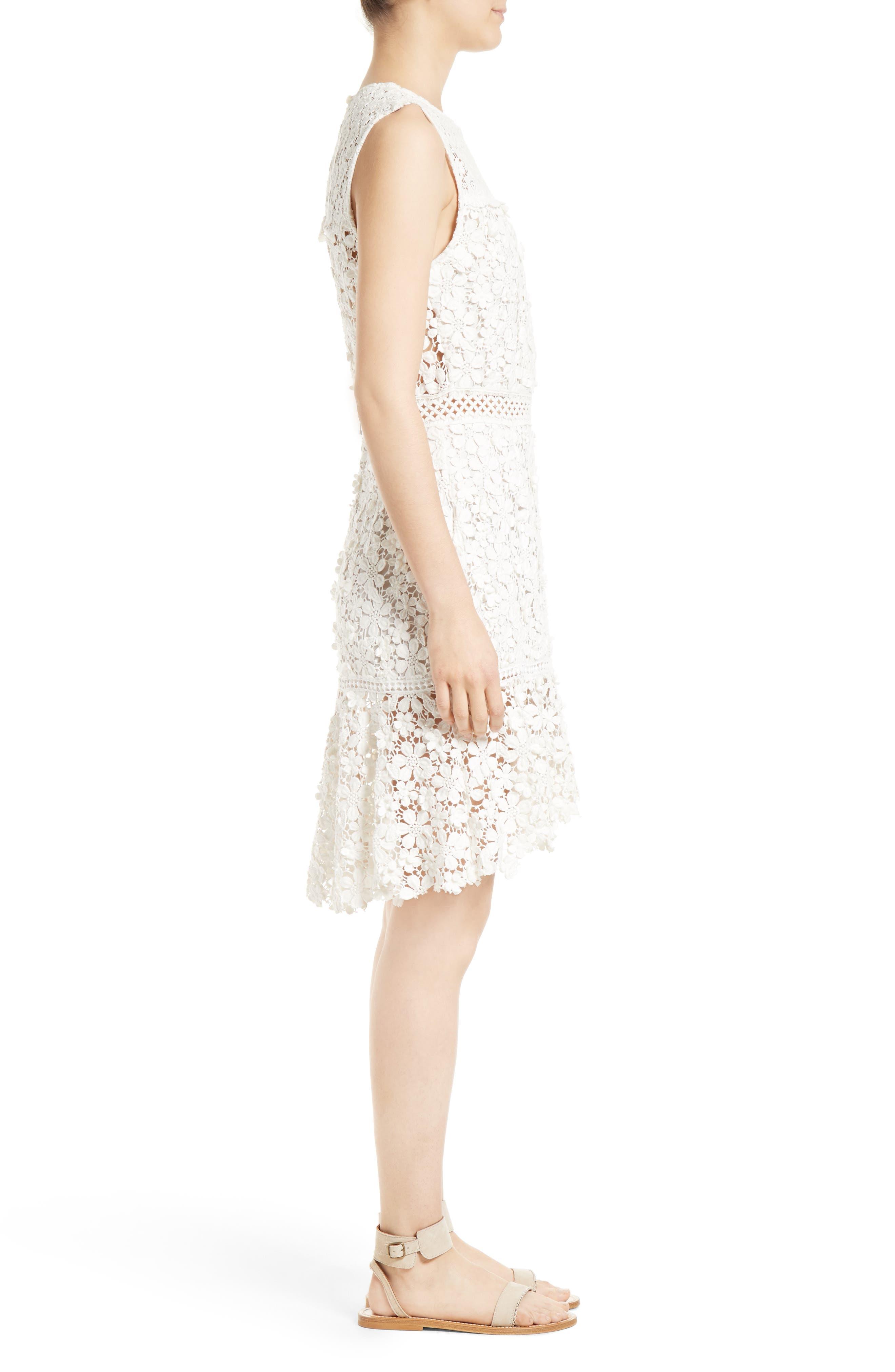 Alternate Image 3  - Sea 3D Crochet Sheath Dress