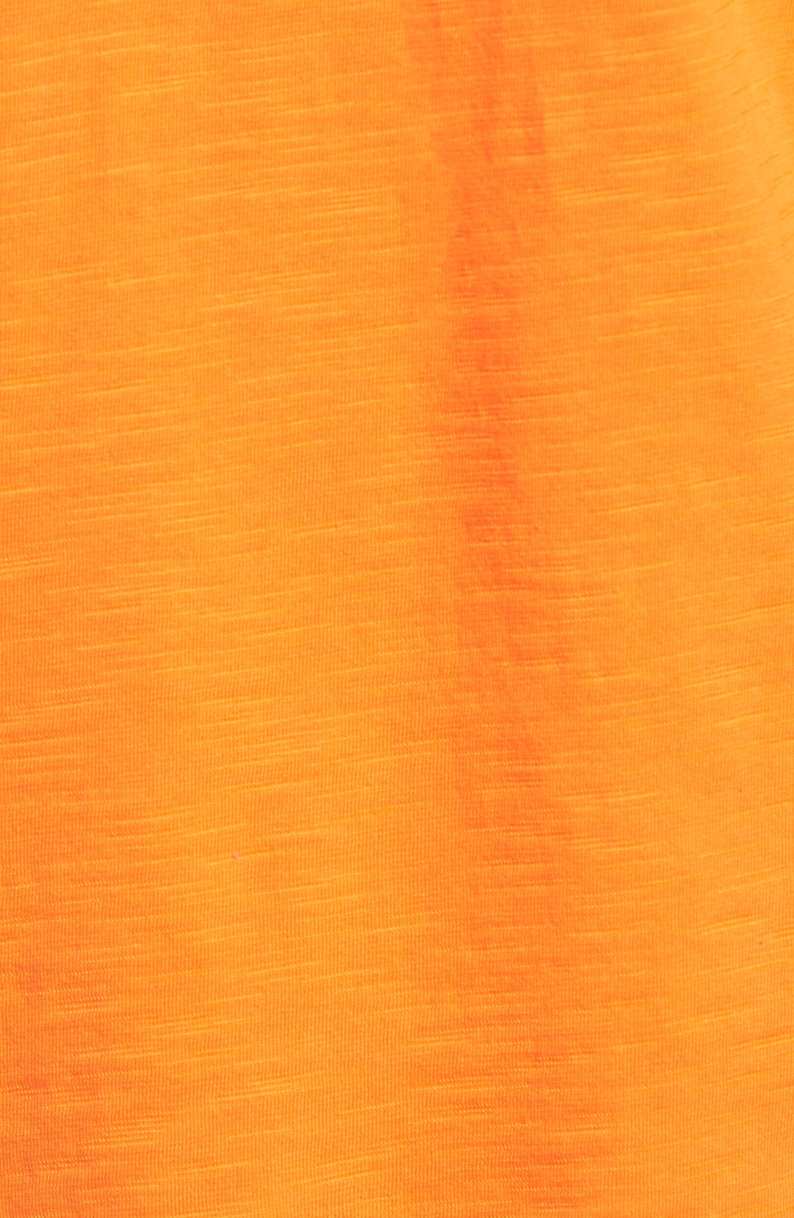 'Portside Player' Pima Cotton T-Shirt,                             Alternate thumbnail 5, color,                             Citrus Punch