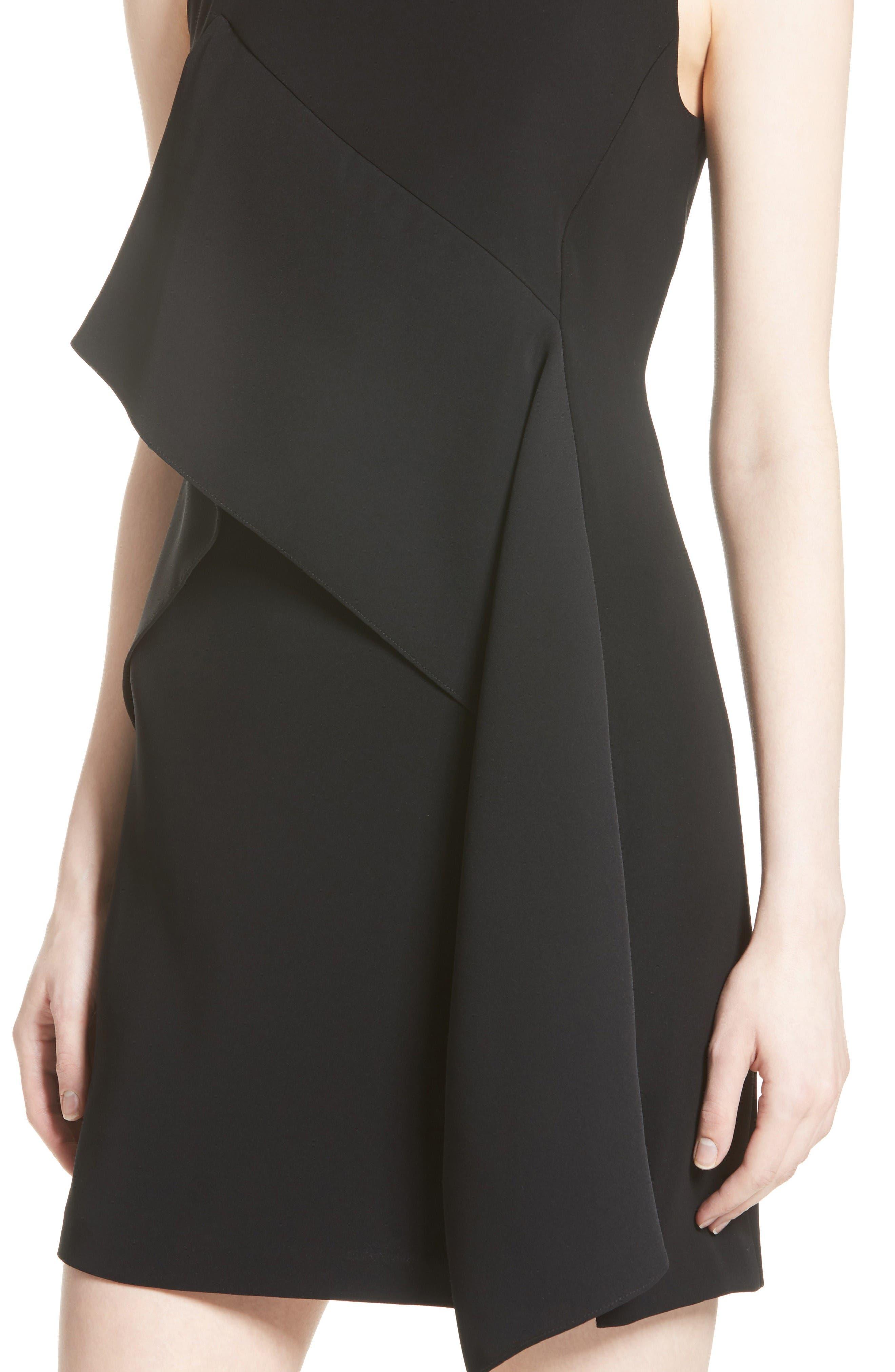 Alternate Image 4  - Diane von Furstenberg Ruffle Front Minidress
