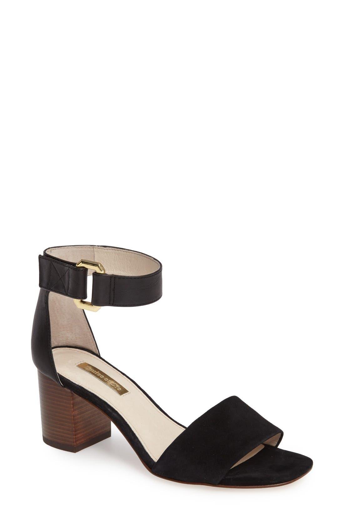 LOUISE ET CIE Kambria Block Heel Sandal